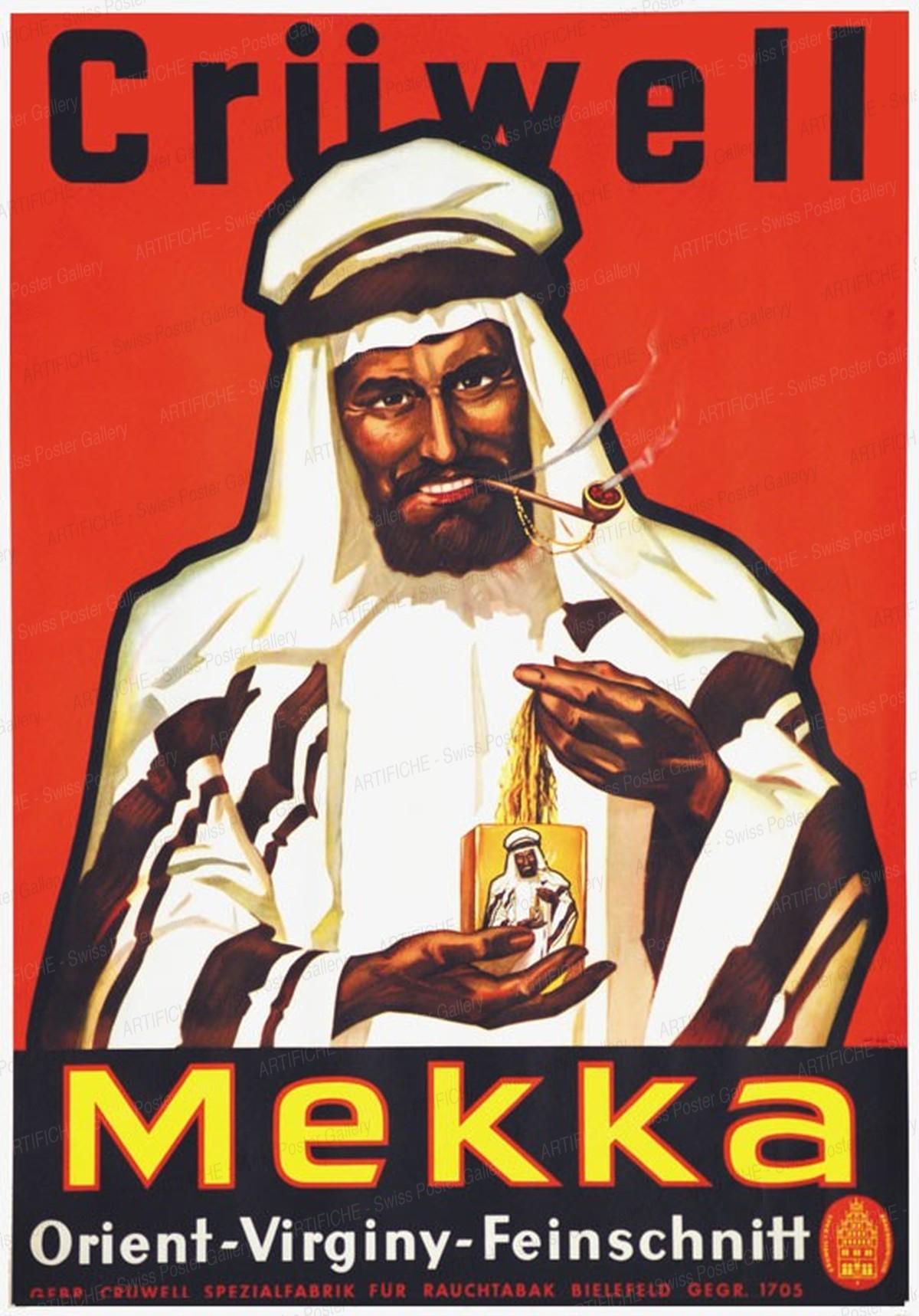 Crüwell Mekka Orient-Virginiy-Feinschnitt, Artist unknown