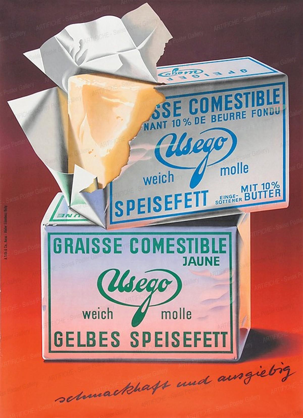 Usego graisse comestible jaune, Hermann / Rolly Hanspeter Eidenbenz