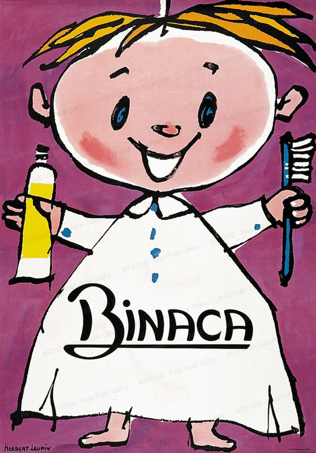 BINACA, Herbert Leupin