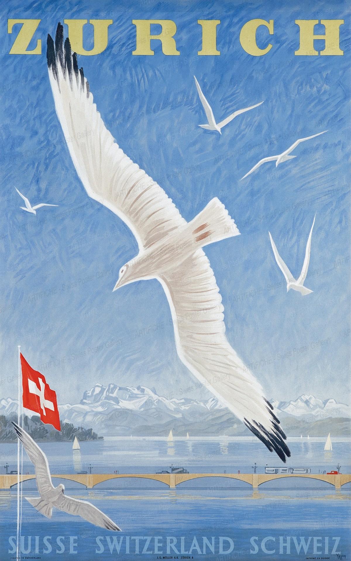 ZURICH – SUISSE SWITZERLAND SCHWEIZ, Alex Walter Diggelmann