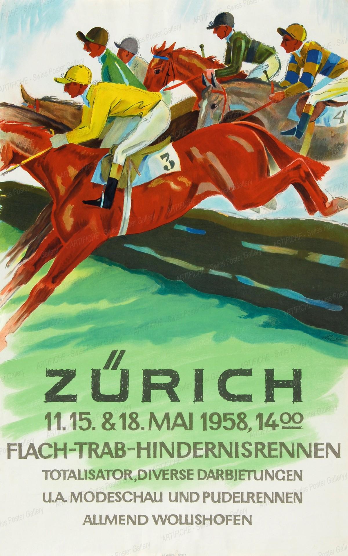 Zurich – Horse Racing, Herbert Berthold Libiszewski