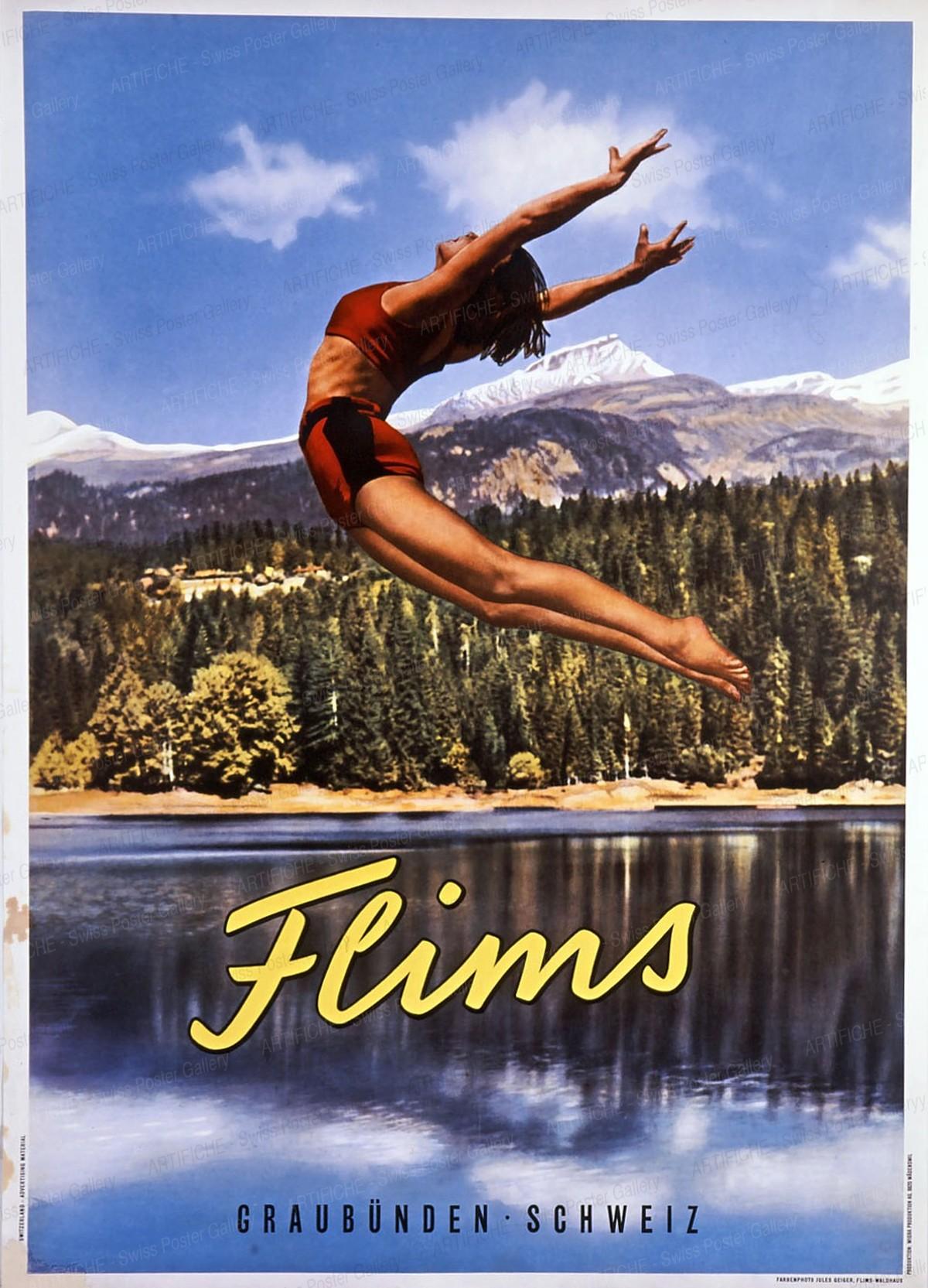 Flims (Photo 1936), Jules Geiger