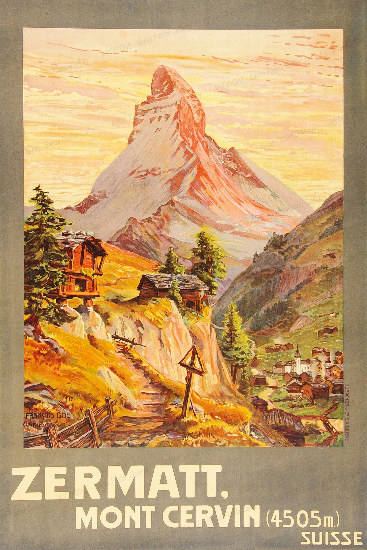 Zermatt – Mont Cervin, François Gos