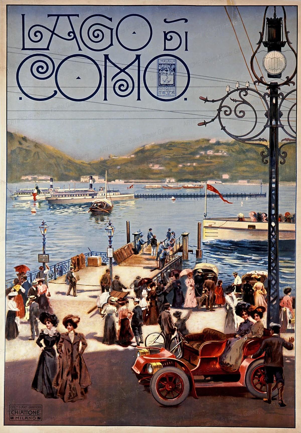 Lago di Como, Artist unknown