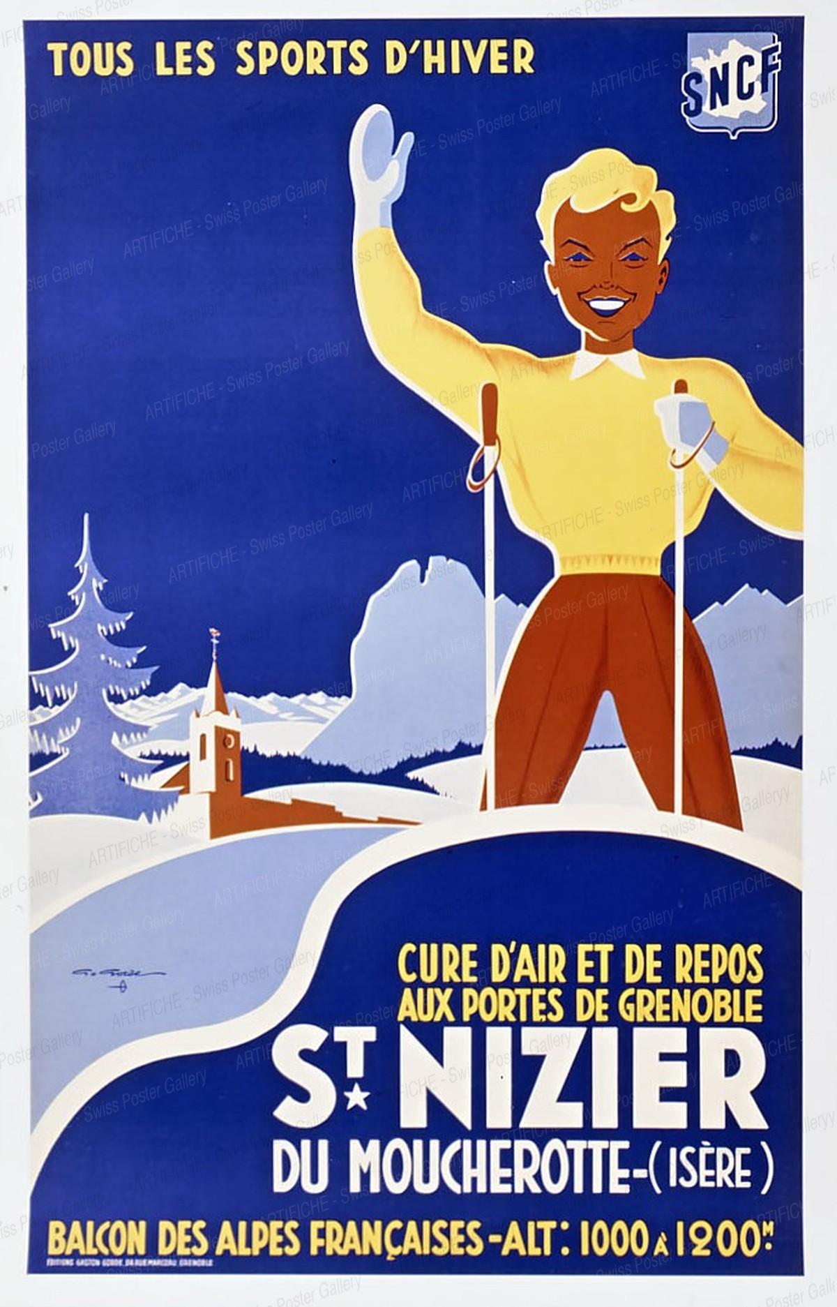 SNCF – St. Nizier, Gaston Gorde
