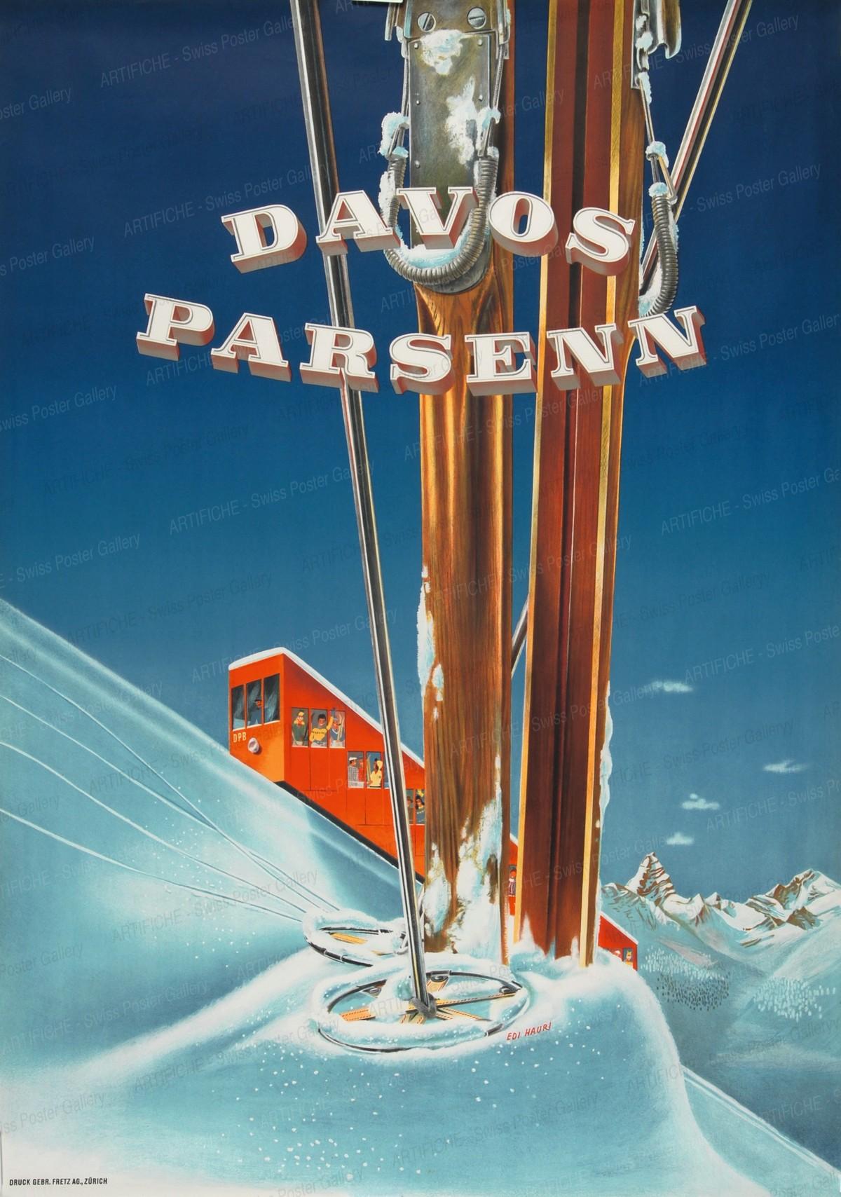 Davos Parsenn, Edi Hauri