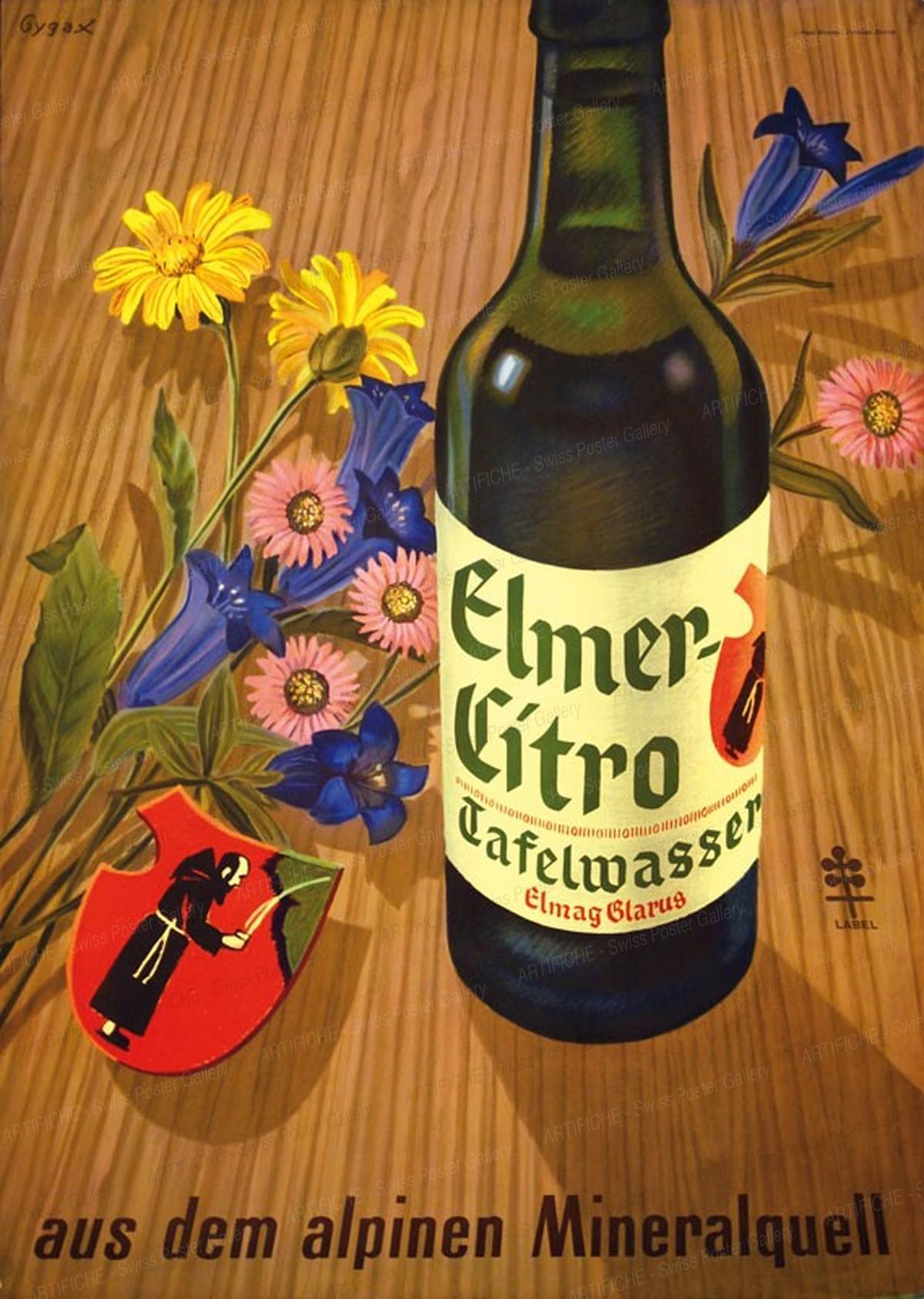 Elmer Citro – aus dem alpinen Mineralquell, Franz Gygax