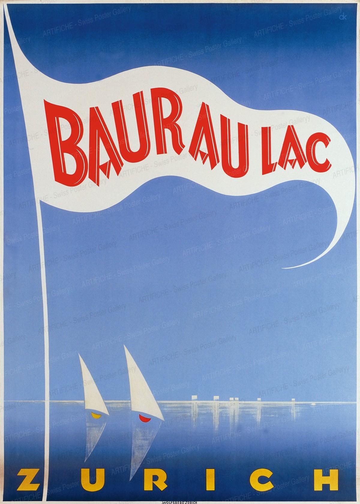BAUR AU LAC ZURICH, Charles Kuhn