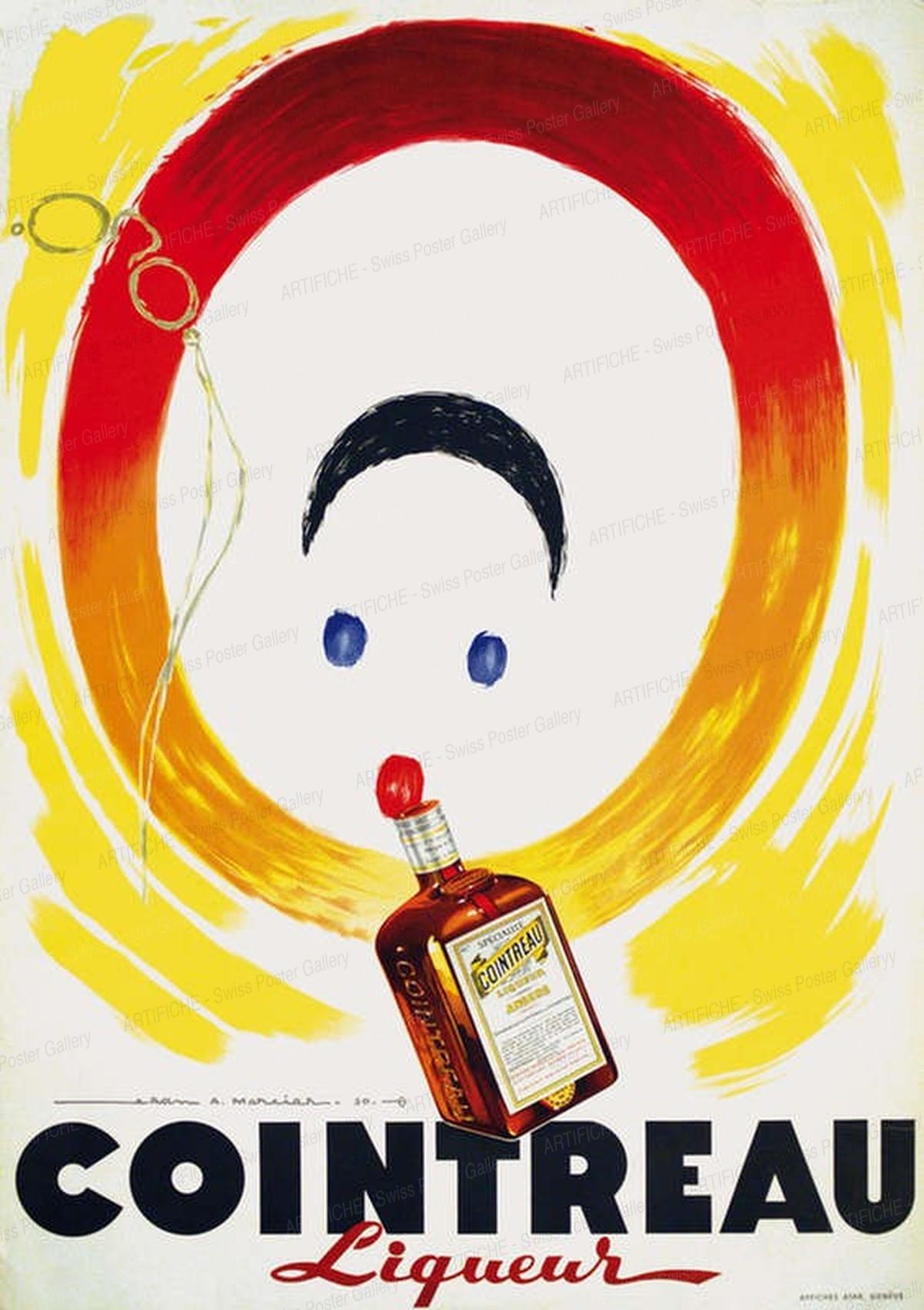 Cointreau Liqueur, Jean Mercier