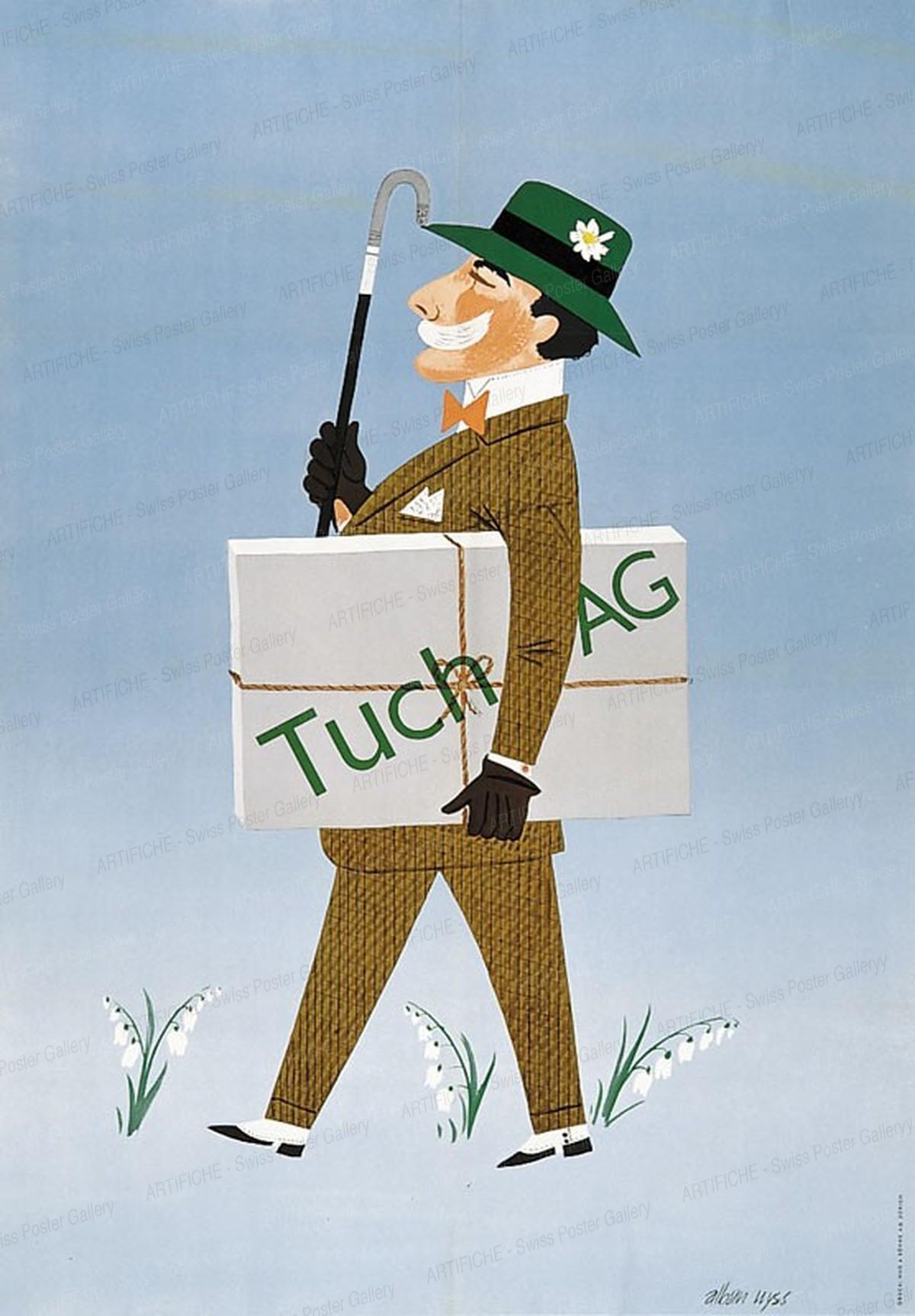 Tuch AG, Alban Wyss