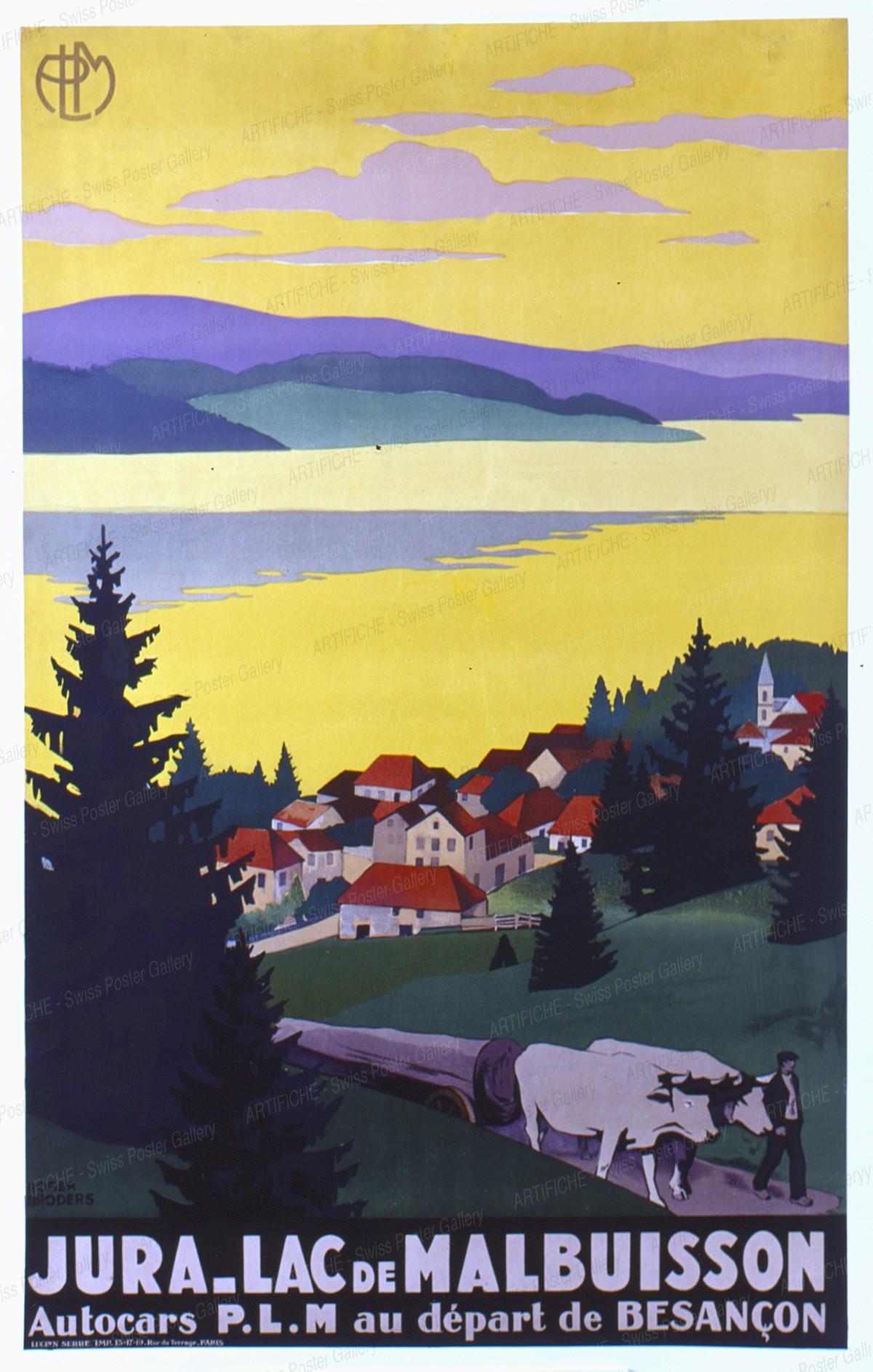PLM Autocars – Jura – Lac de Malbuisson, Roger Broders