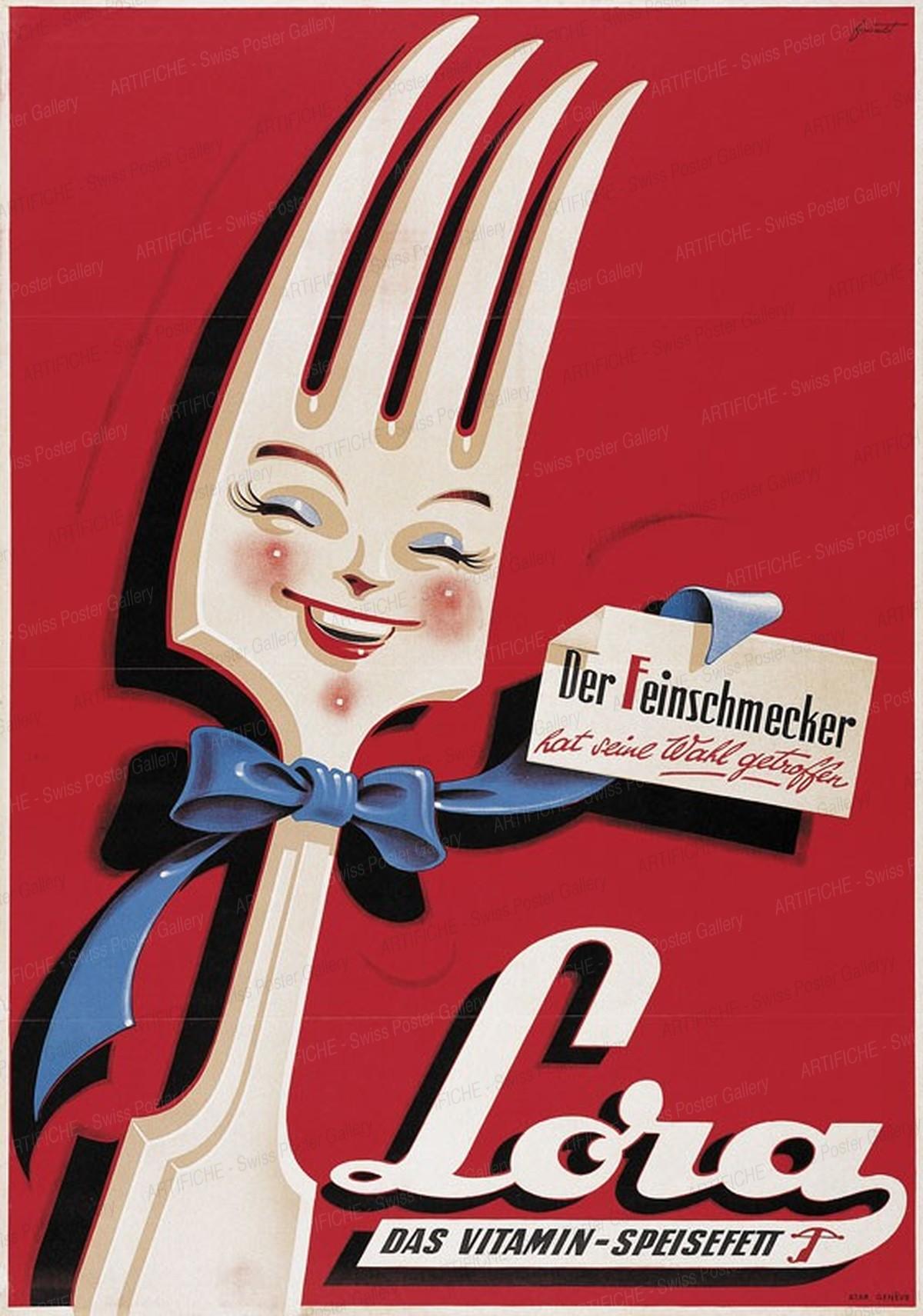 Lora edible fat, Noël Fontanet