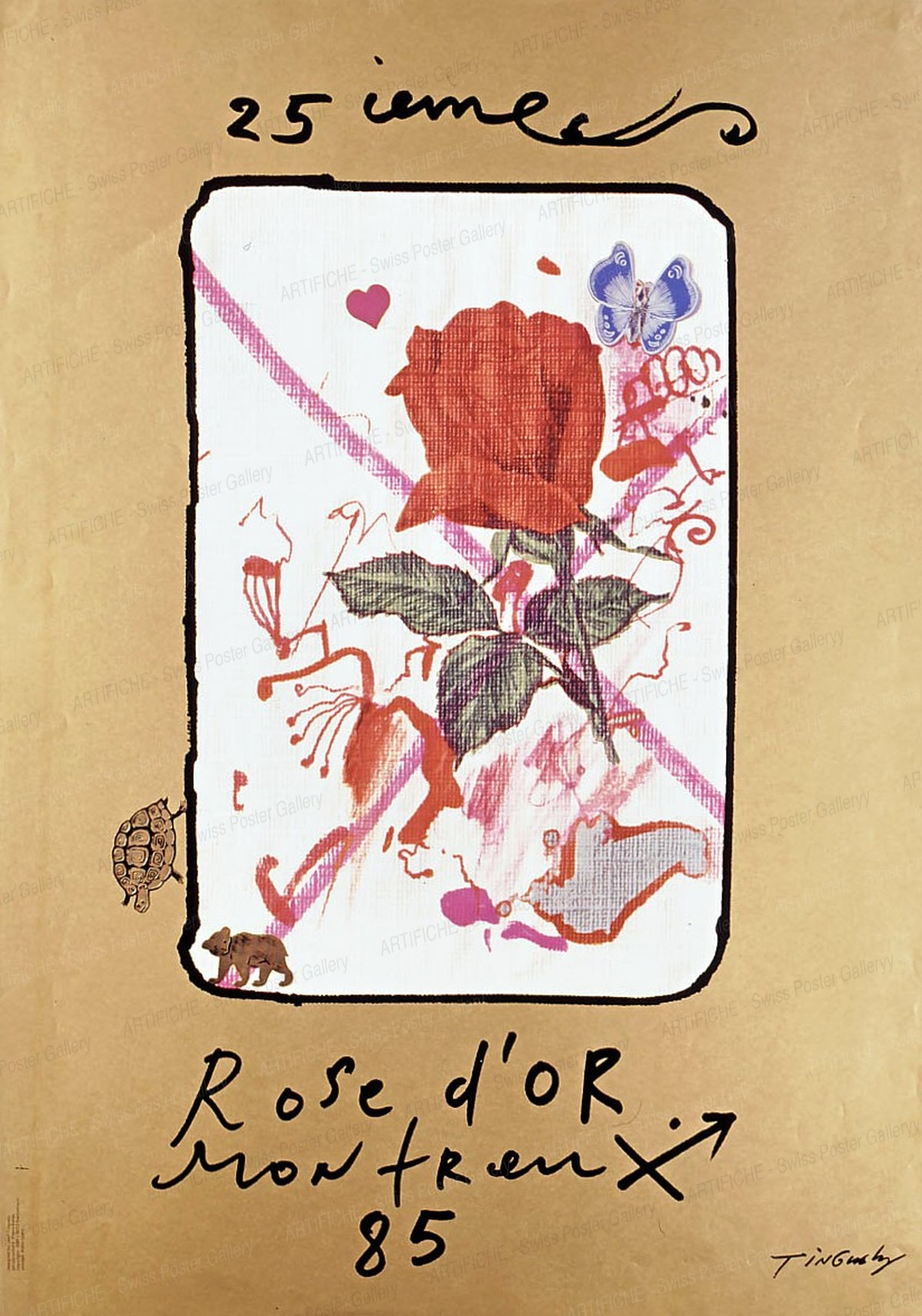 Rose d'or Montreux 1985 / 25. Festival, Jean Tinguely
