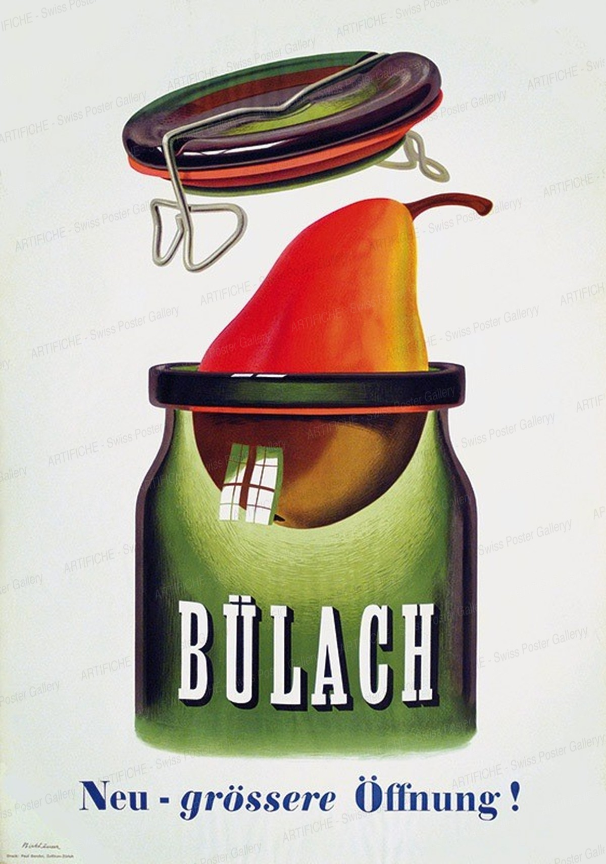 BÜLACH – Neu – grössere Öffnung!, Peter Birkhäuser