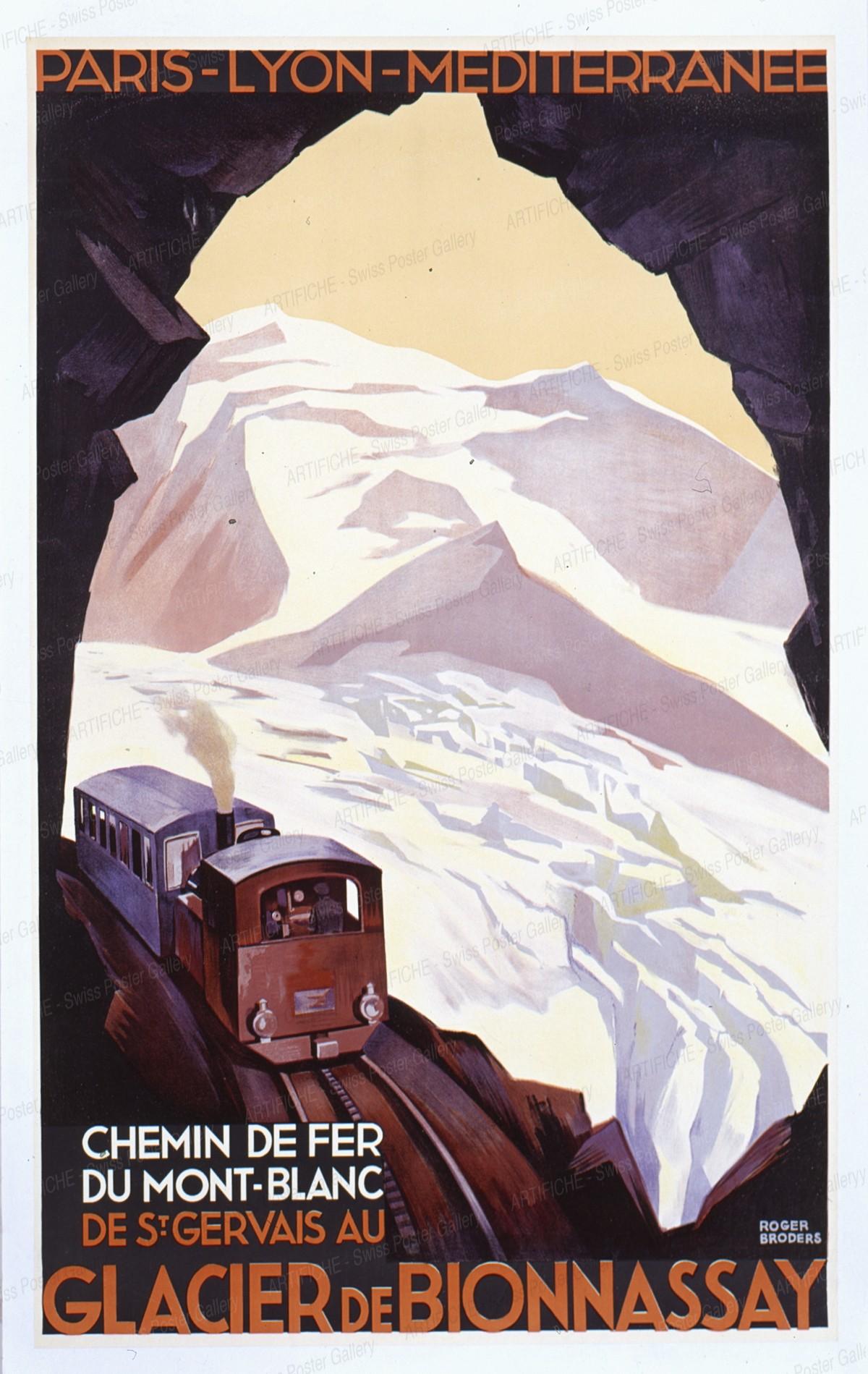 Glacier de Bionnassay, Roger Broders