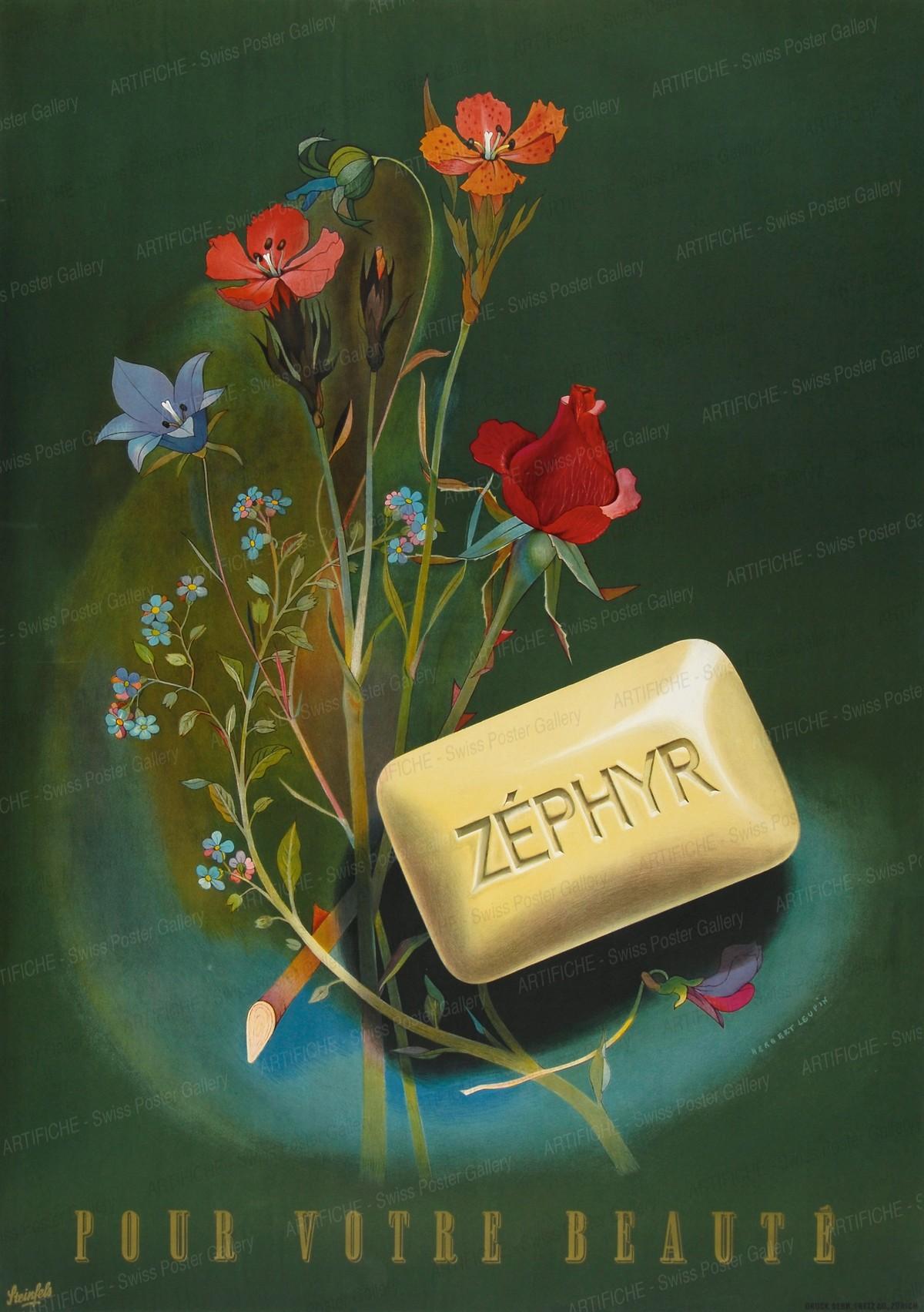 Steinfels – Zephyr – Pour votre Beauté, Herbert Leupin