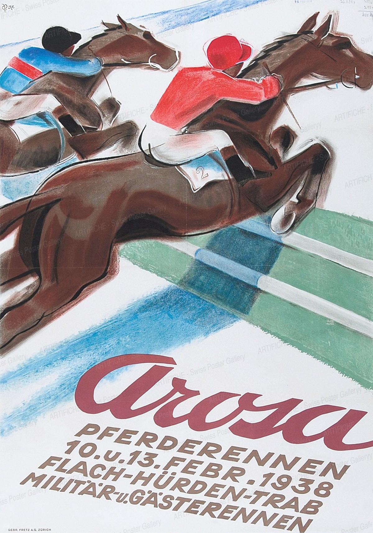 Arosa – Horse Racing, Hugo Laubi
