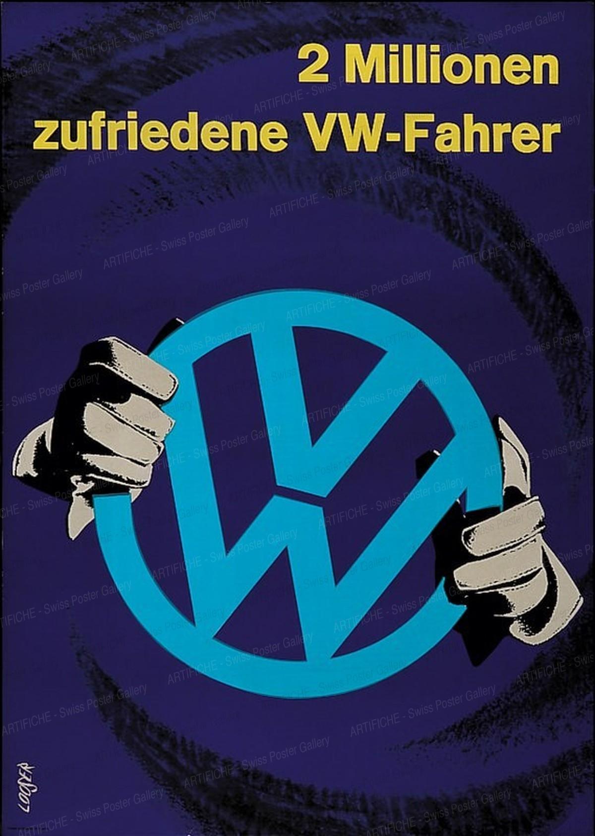 VW – 2 Millionen zufriedene VW-Fahrer, Hans Looser