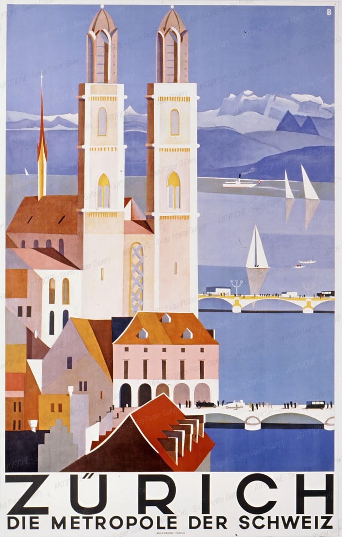 Zürich – Metropole, Otto Baumberger