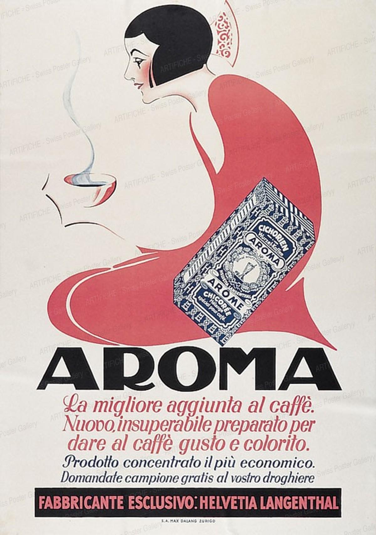AROMA – La migliore aggiunta del caffé – Kaffee-Aroma, Max Dalang