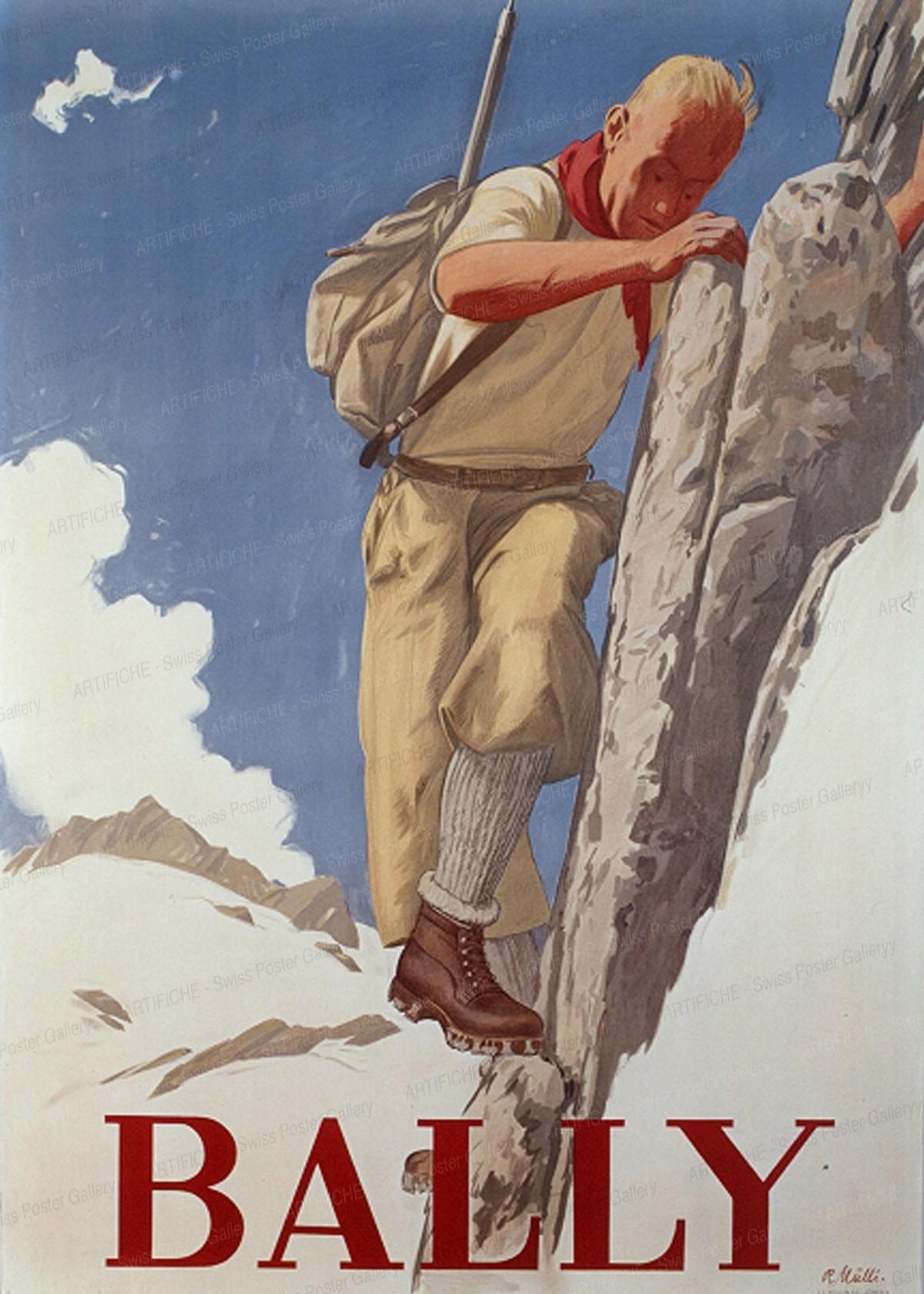 BALLY, Rudolf Mülli
