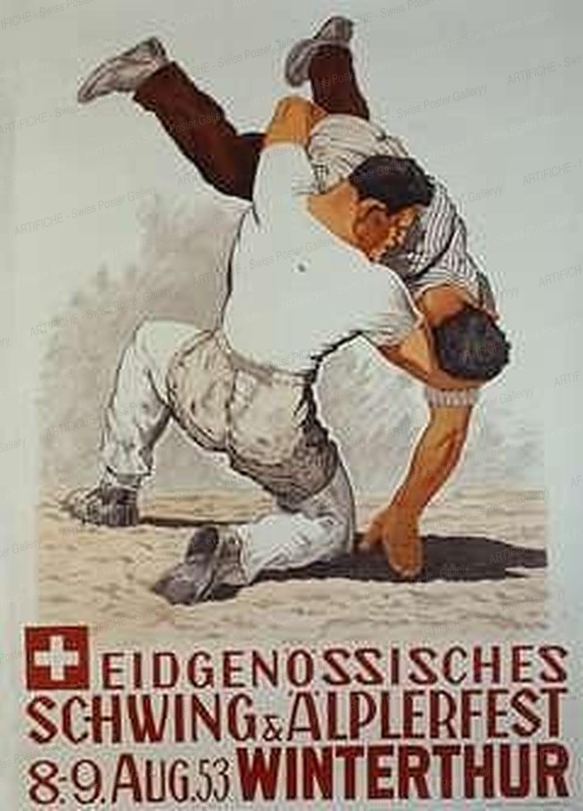 Eidgenössisches Schwing- & Älplerfest Winterthur 1953, Carl Rüttimann