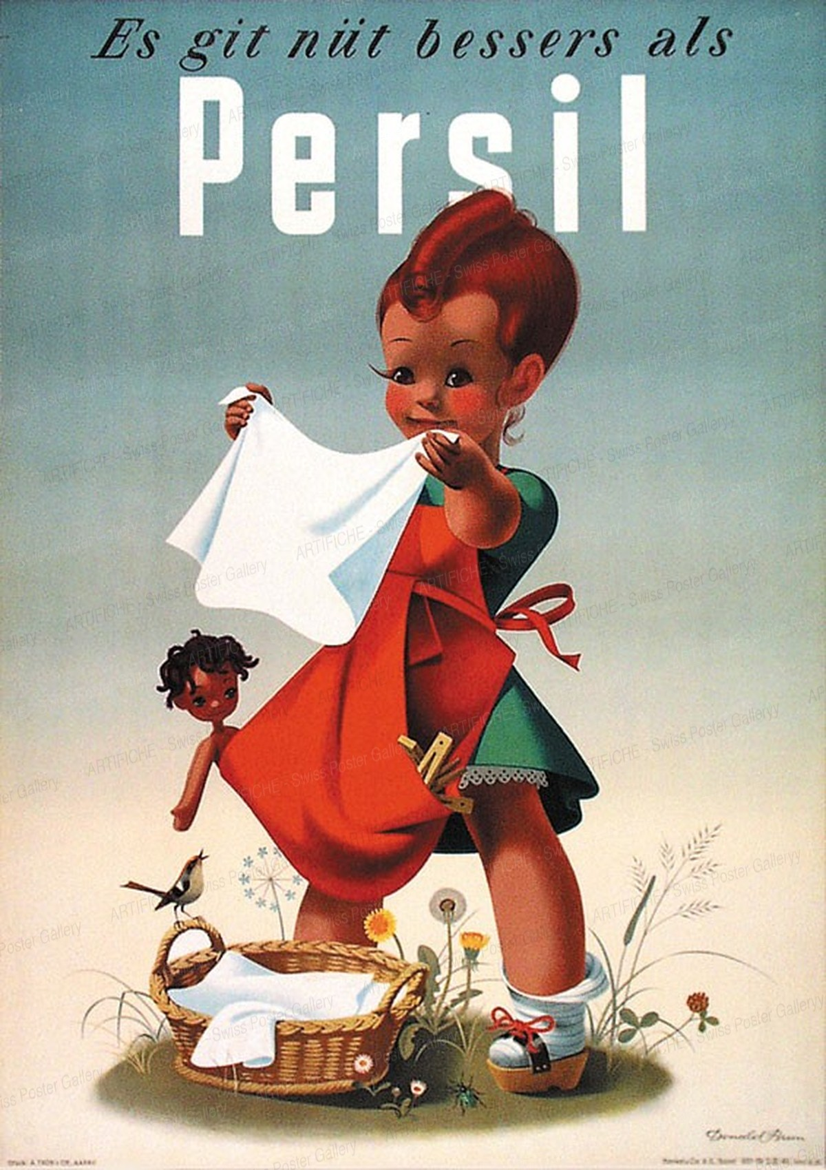 Persil – es git nüt bessers als Persil, Donald Brun