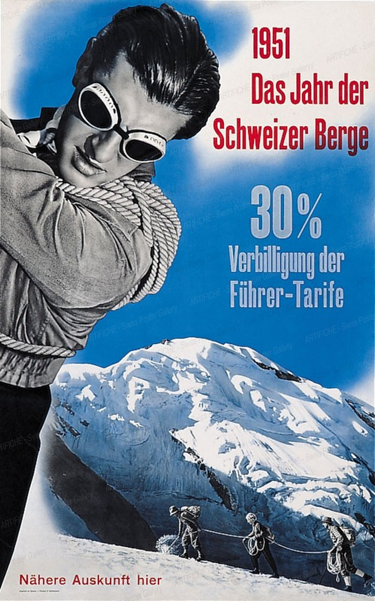 1951 – Das Jahr der Schweizer Berge, Hans Aeschbach