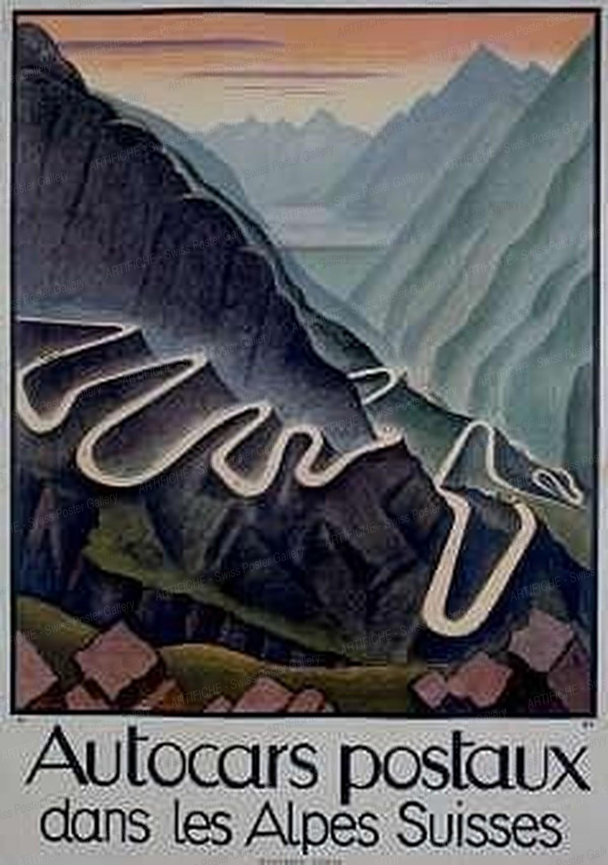 Autocars postaux dans les Alpes Suisses, Niklaus Stoecklin