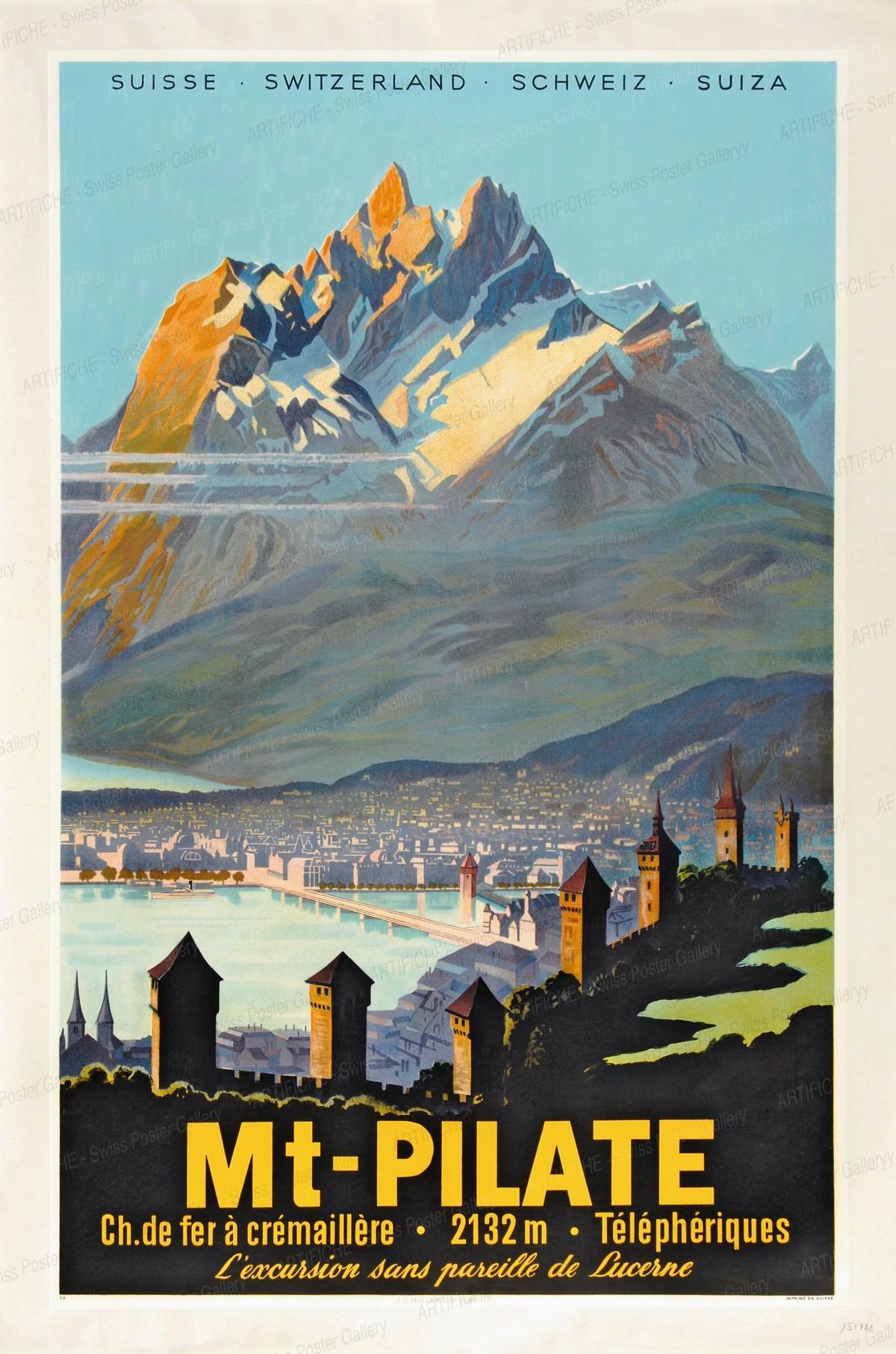 Mount Pilatus – Lucerne, Otto Betschmann