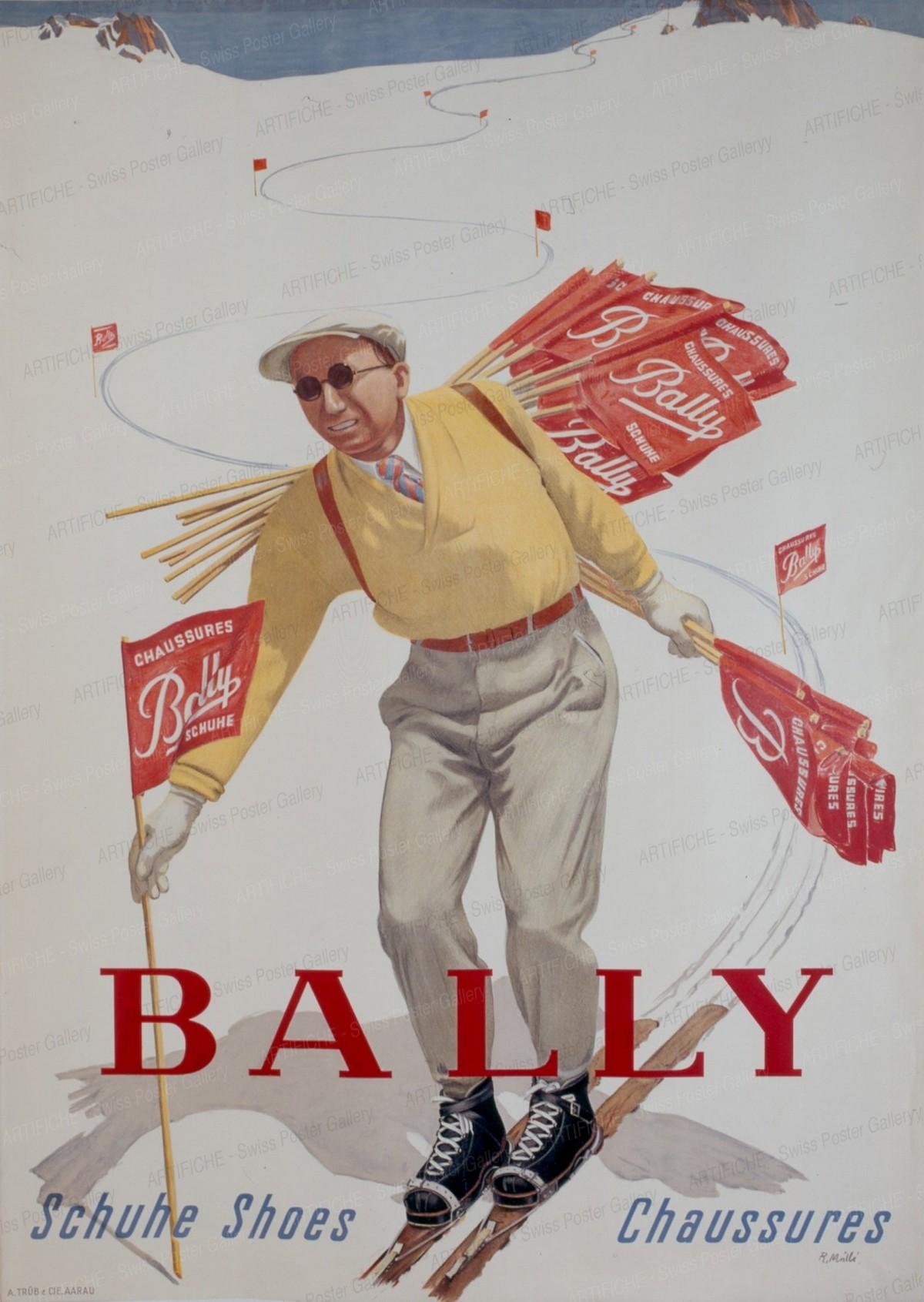 BALLY Schuhe Shoes Chaussures, Rudolf Mülli