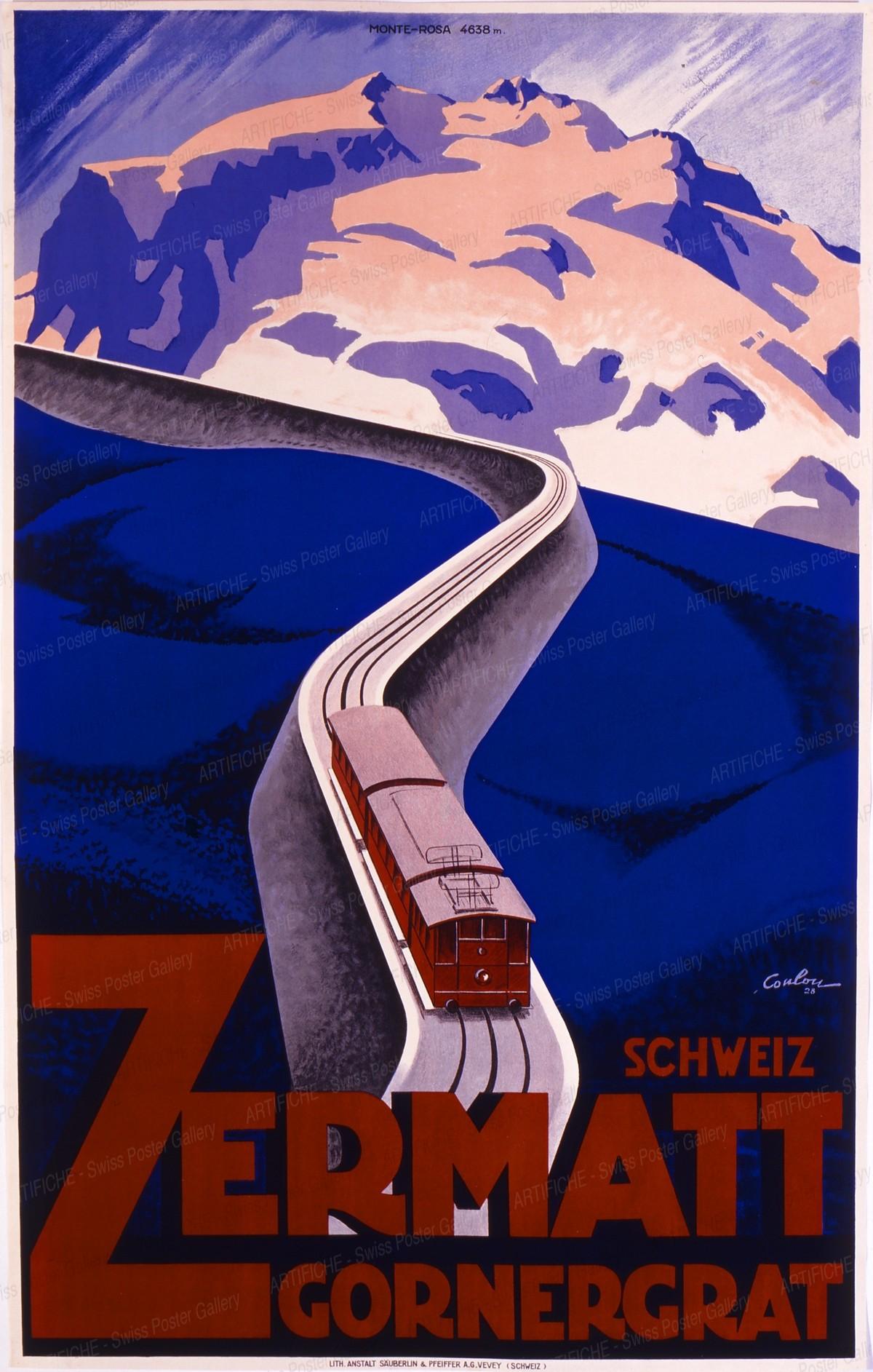 ZERMATT – Gornergrat Schweiz, Eric de Coulon