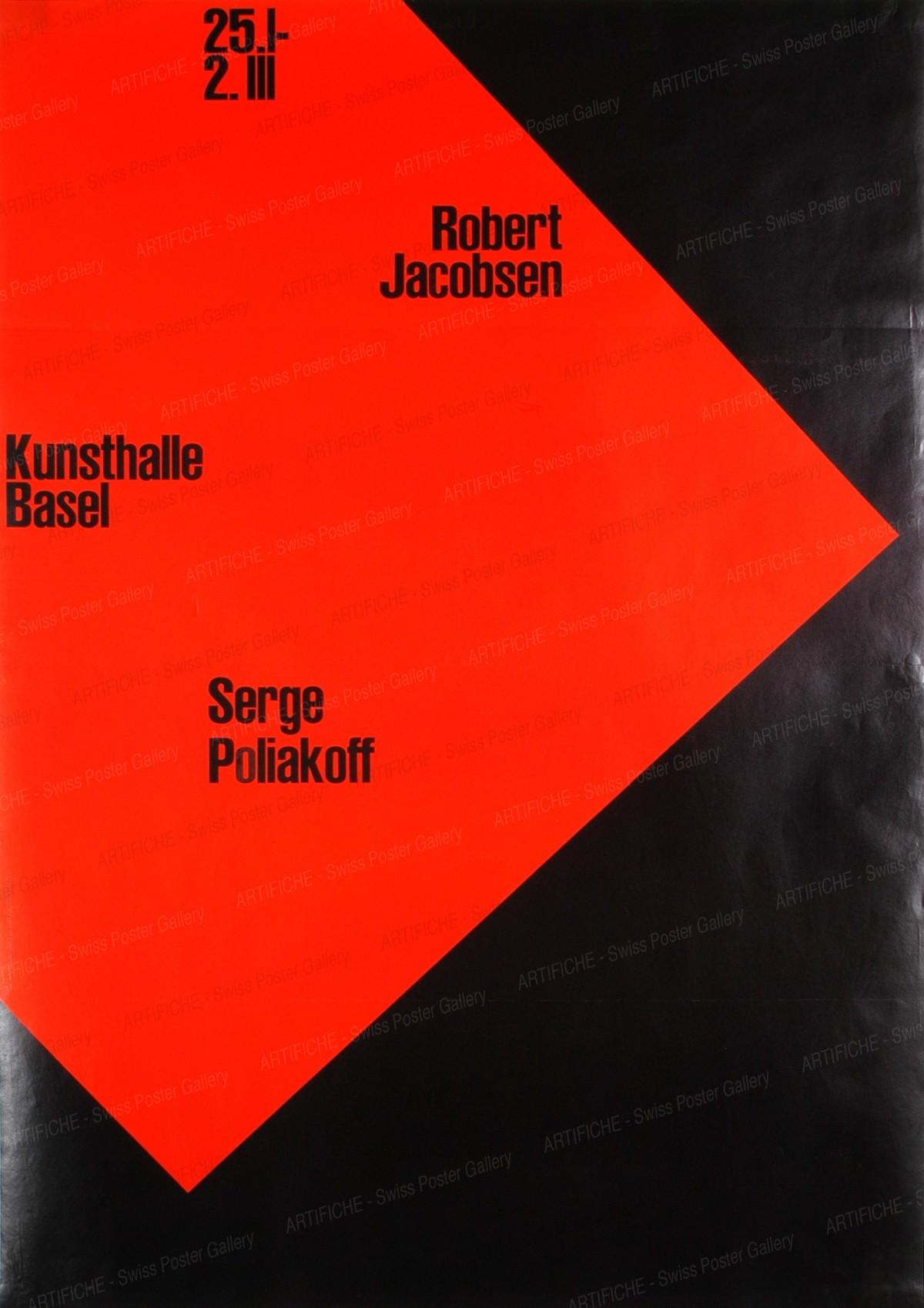 Kunststalle Basel – Robert Jacobsen / Serge Poliakoff, Armin Hofmann