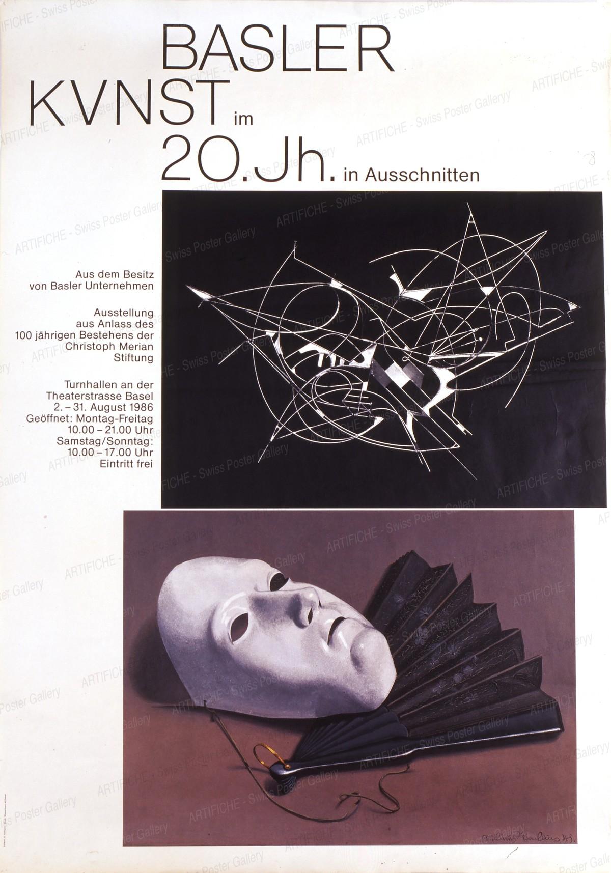 Basler Kunst im 20. Jh. – In Ausschnitten – 100 Jahre Merian Stiftung, Armin Hofmann