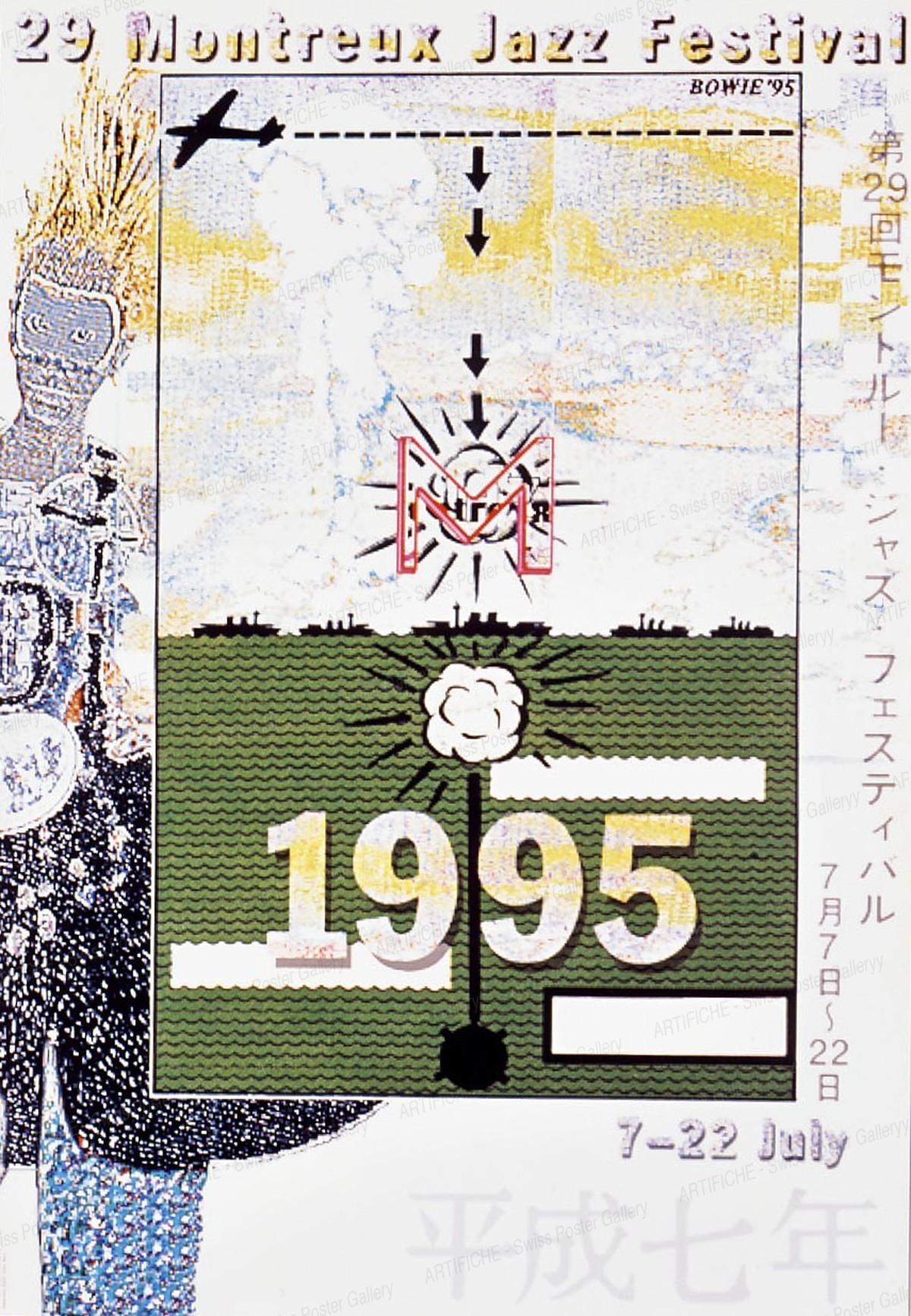 29 Montreux Jazz Festival 1995 – Bowie `95, David Bowie