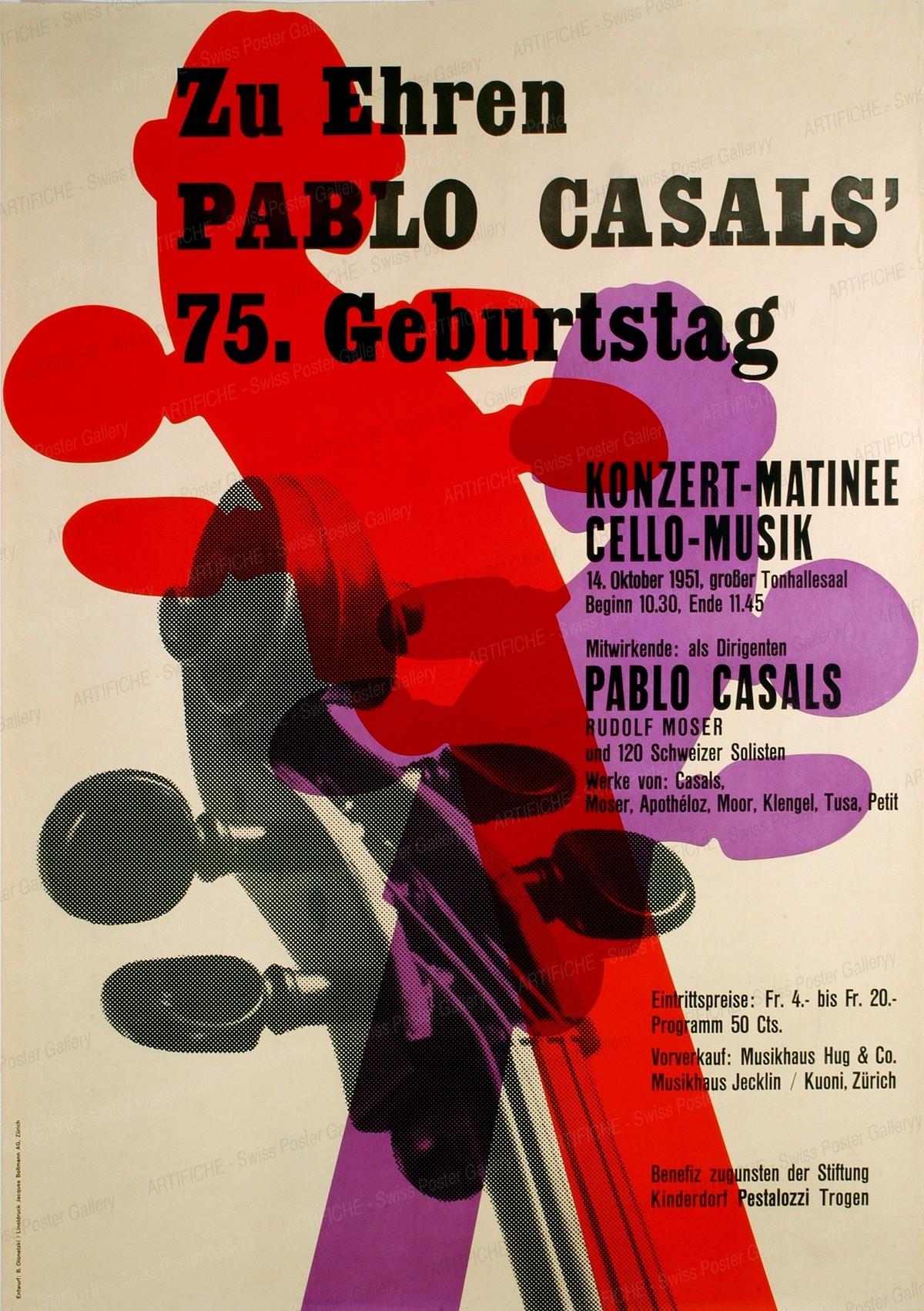 Zu Ehren Pablo Casals 75. Geburtstag, Beni Olonetzki