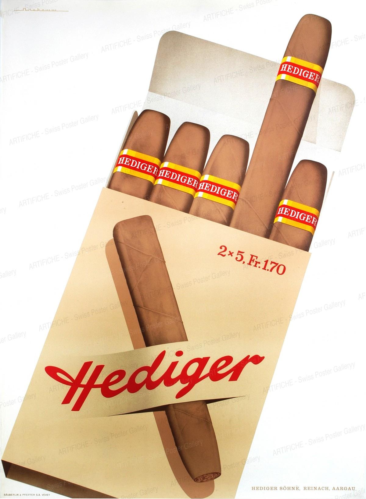Hediger Cigars, Alfred Neukomm