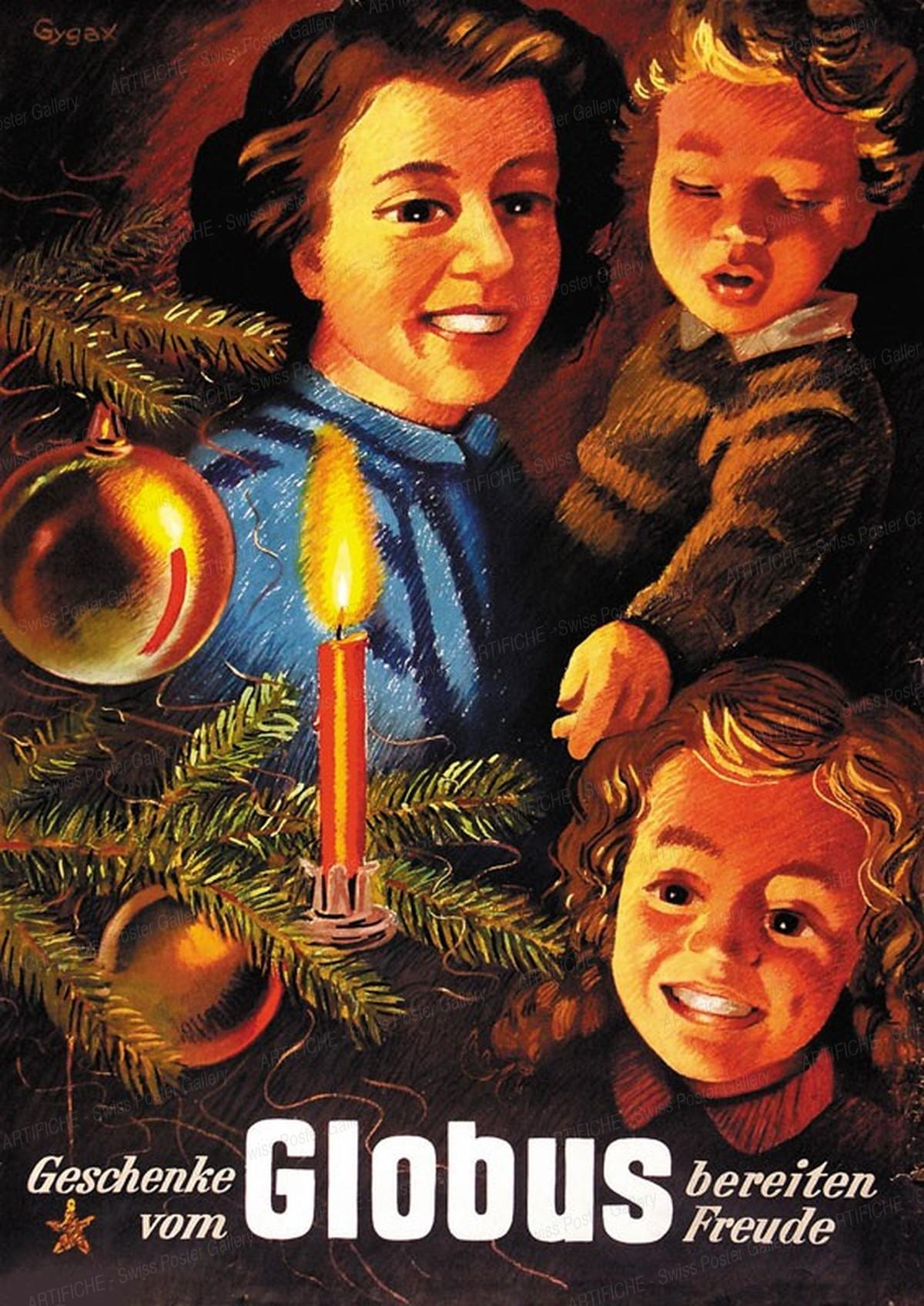 Globus Departement Store – Christmas, Franz Gygax