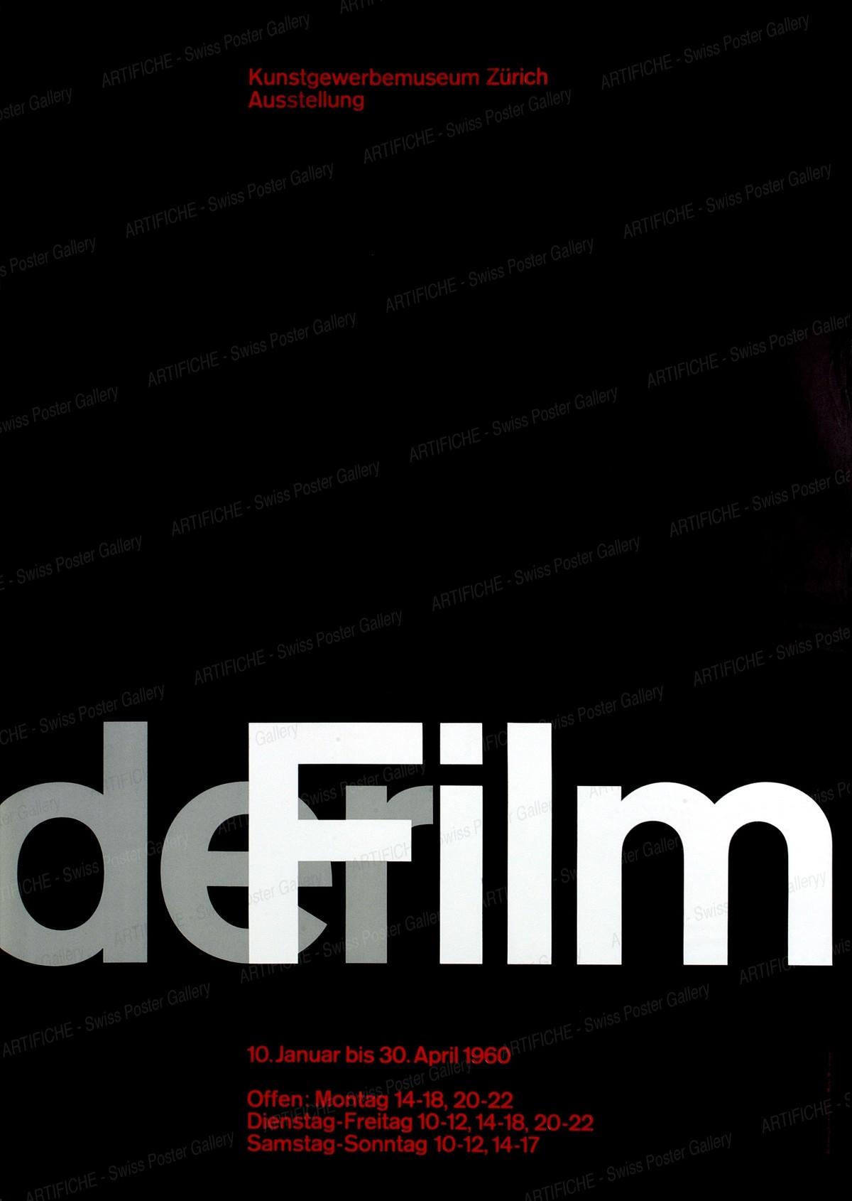 Zurich Museum of Design – The Film, Josef Müller-Brockmann