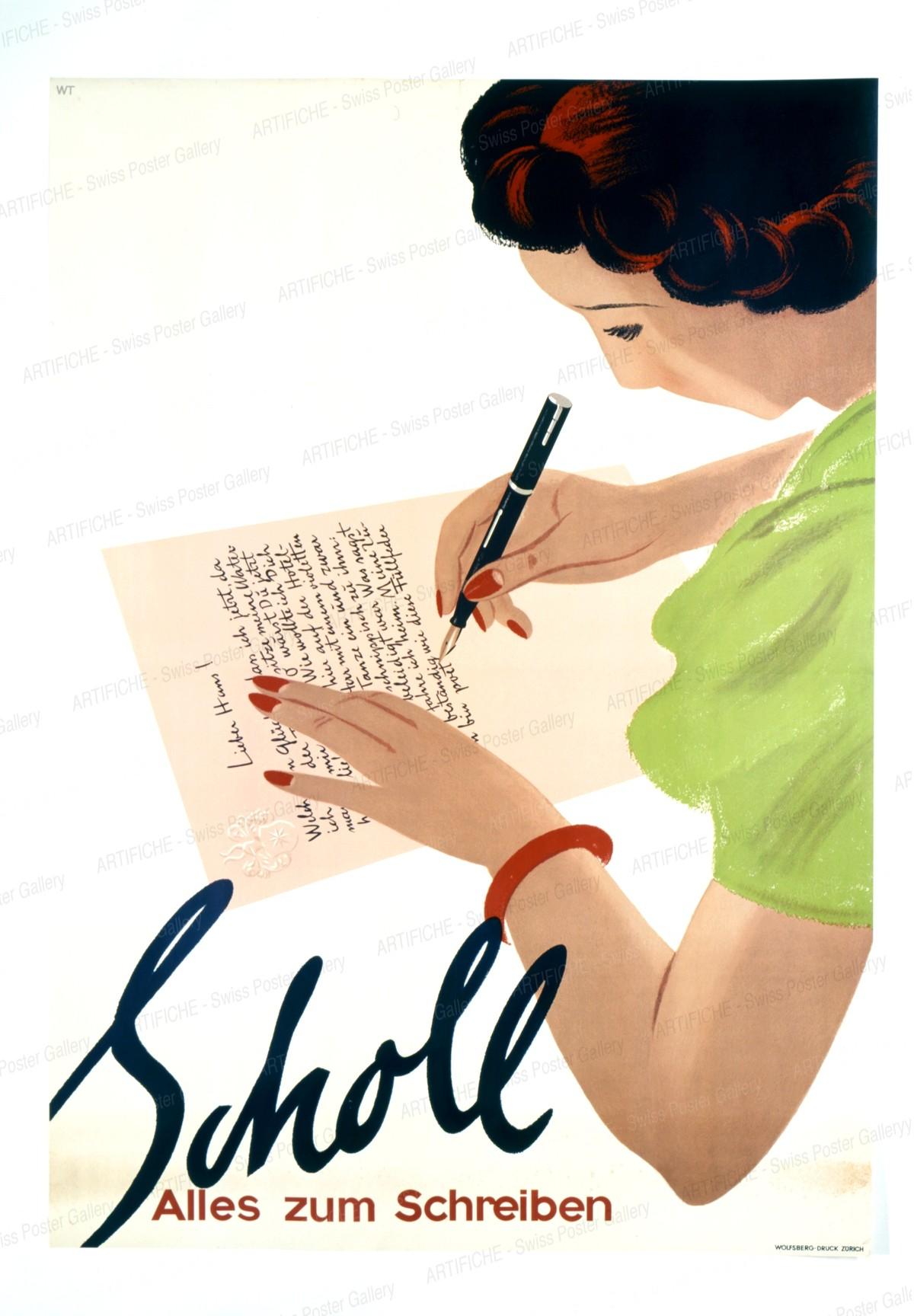 Scholl – Alles zum Schreiben, Willy Trapp