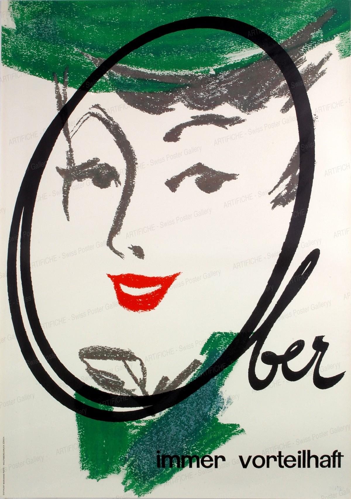Ober – immer vorteilhaft, Marianne Piatti (bzw. Piatti-Stricker)