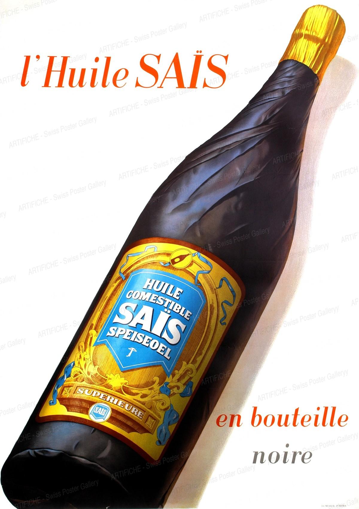 Sais Oil – in the black bottle, Hans Looser
