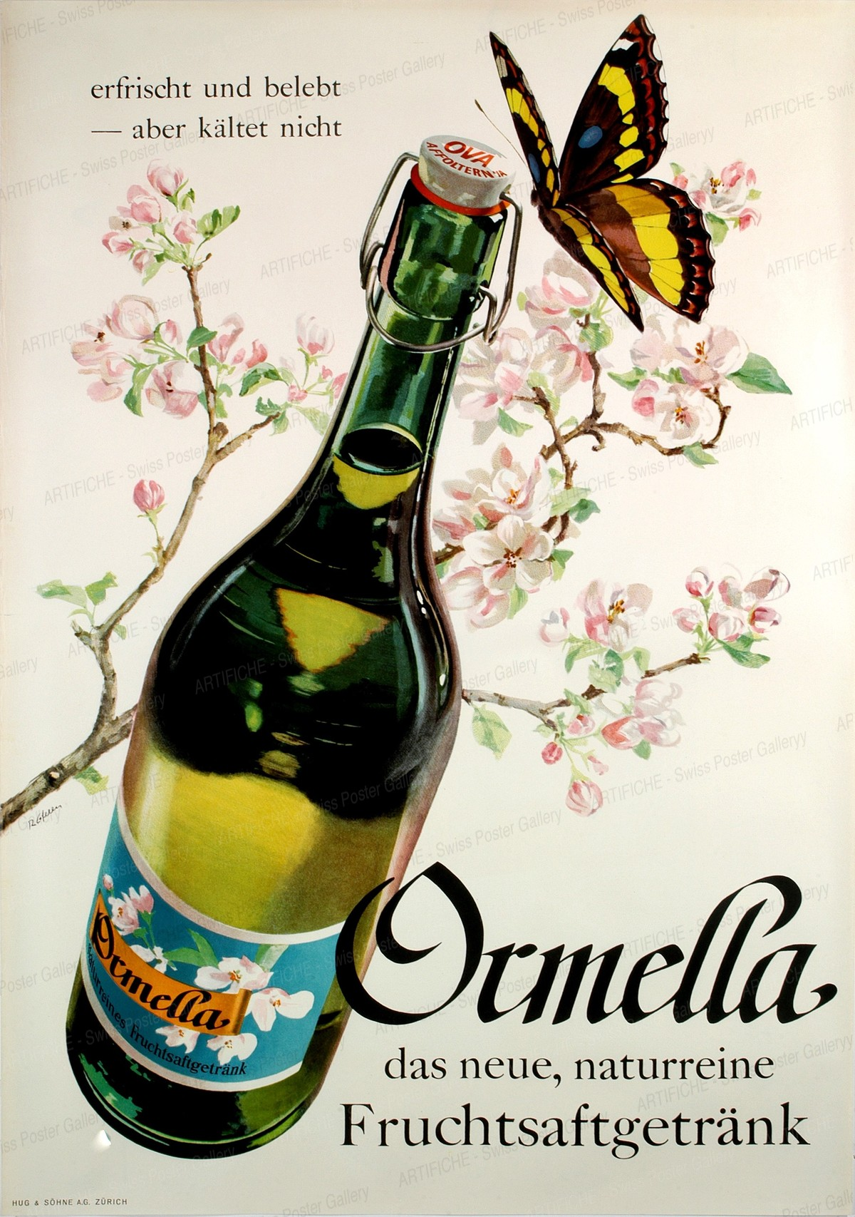 Ormella – Fruchtsaftgetränk, Rolf Gfeller