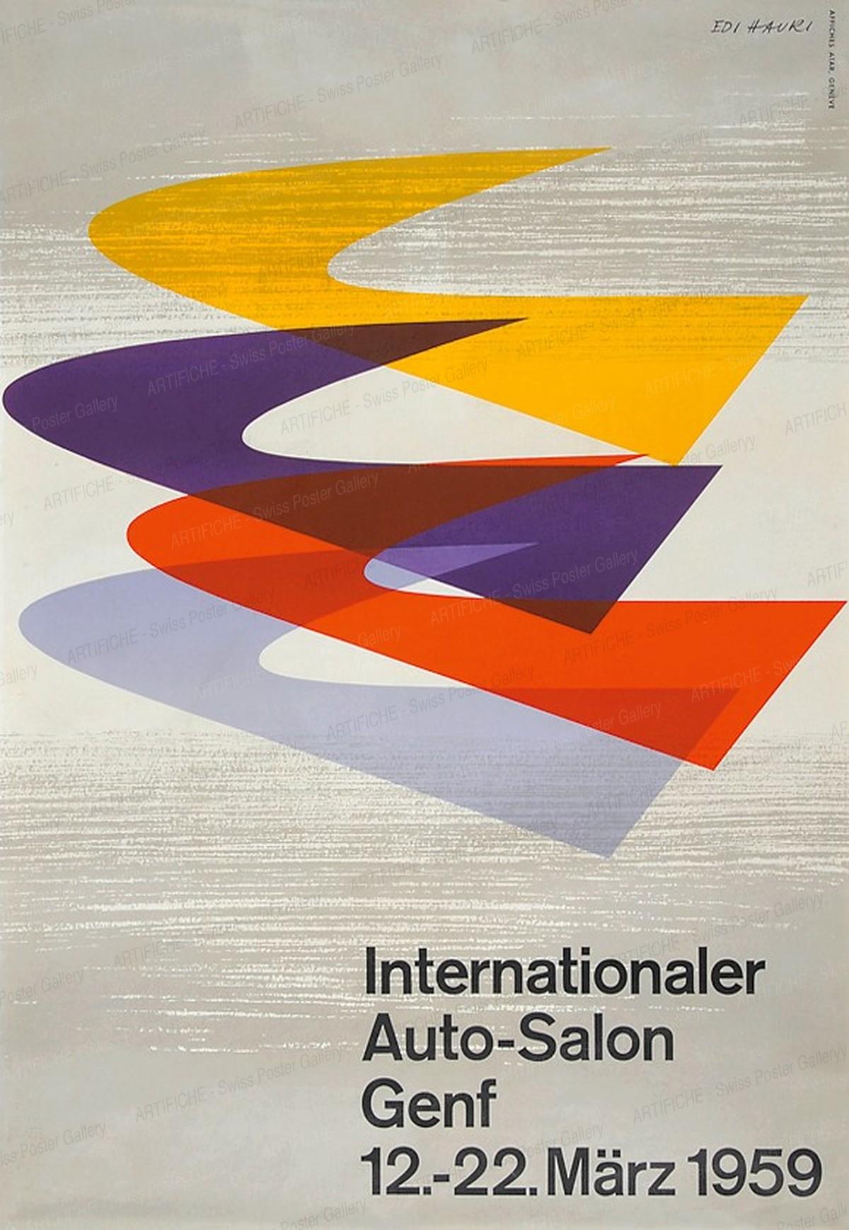 Internationaler Auto-Salon Genf 1959, Edi Hauri