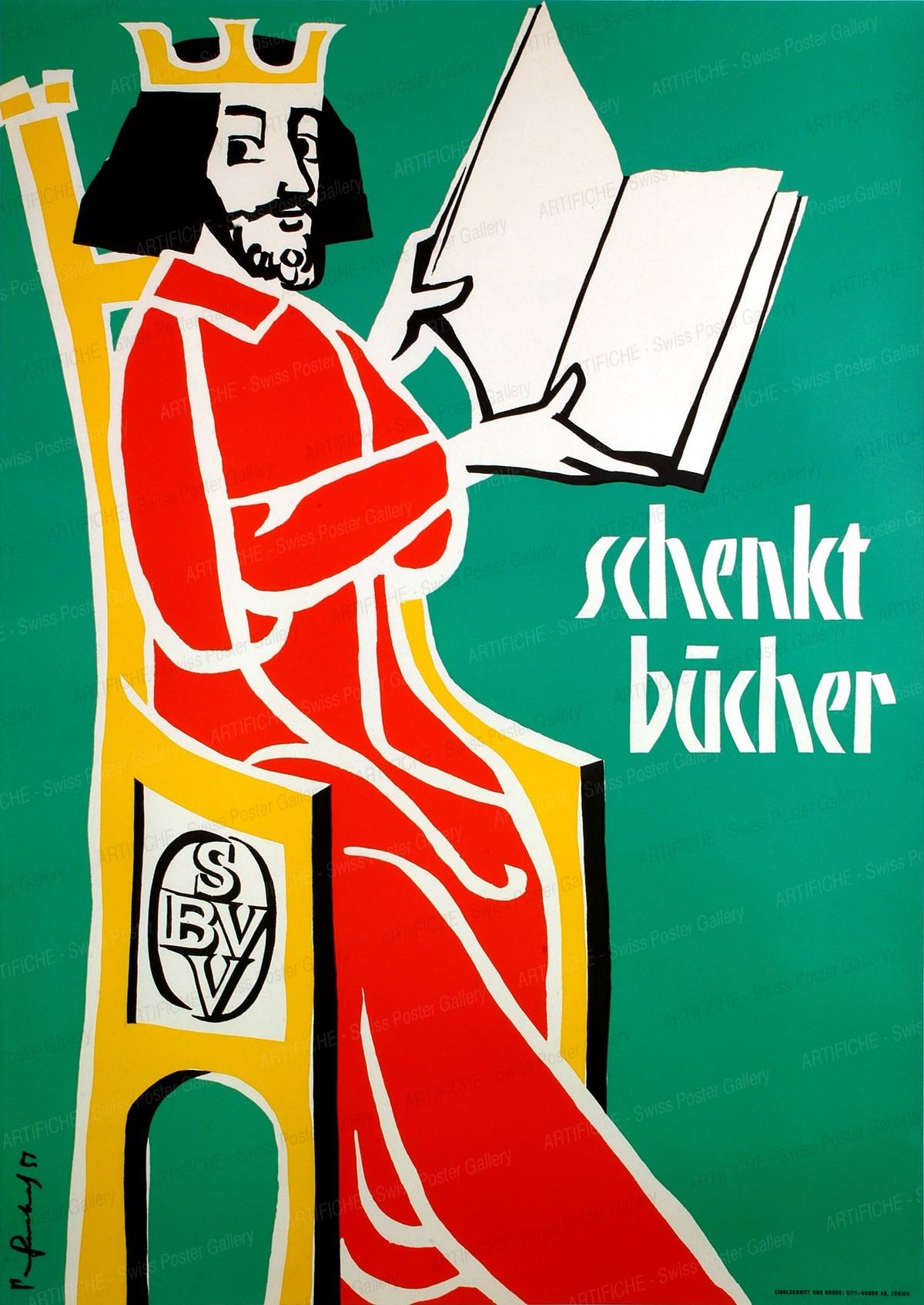Schenkt Bücher, Pierre Gauchat