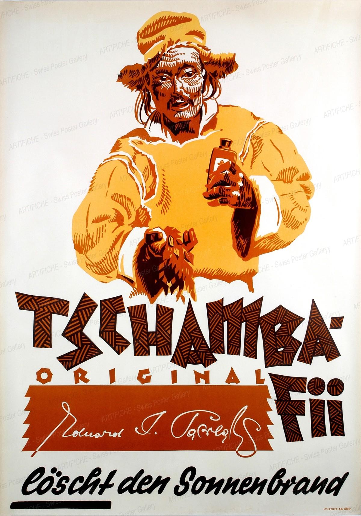 Tschamba-Fii löscht den Sonnenbrand, Artist unknown