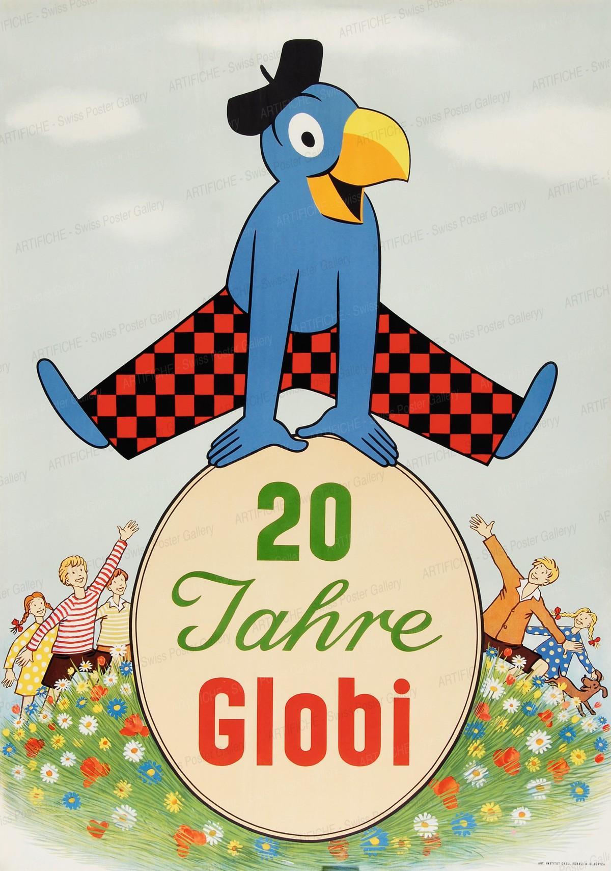 Magazine zum Globus – 20 Jahre (Globi), Robert Lips