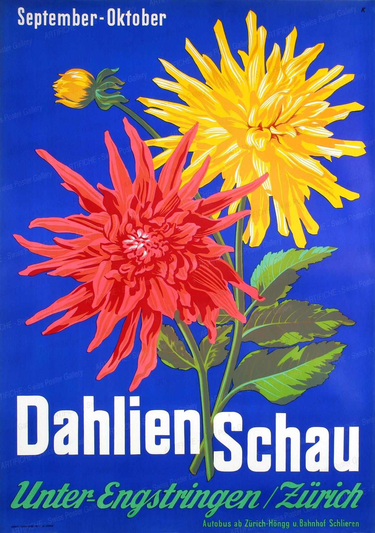 Dahlienschau Unterengstringen Zürich, Leo Keck