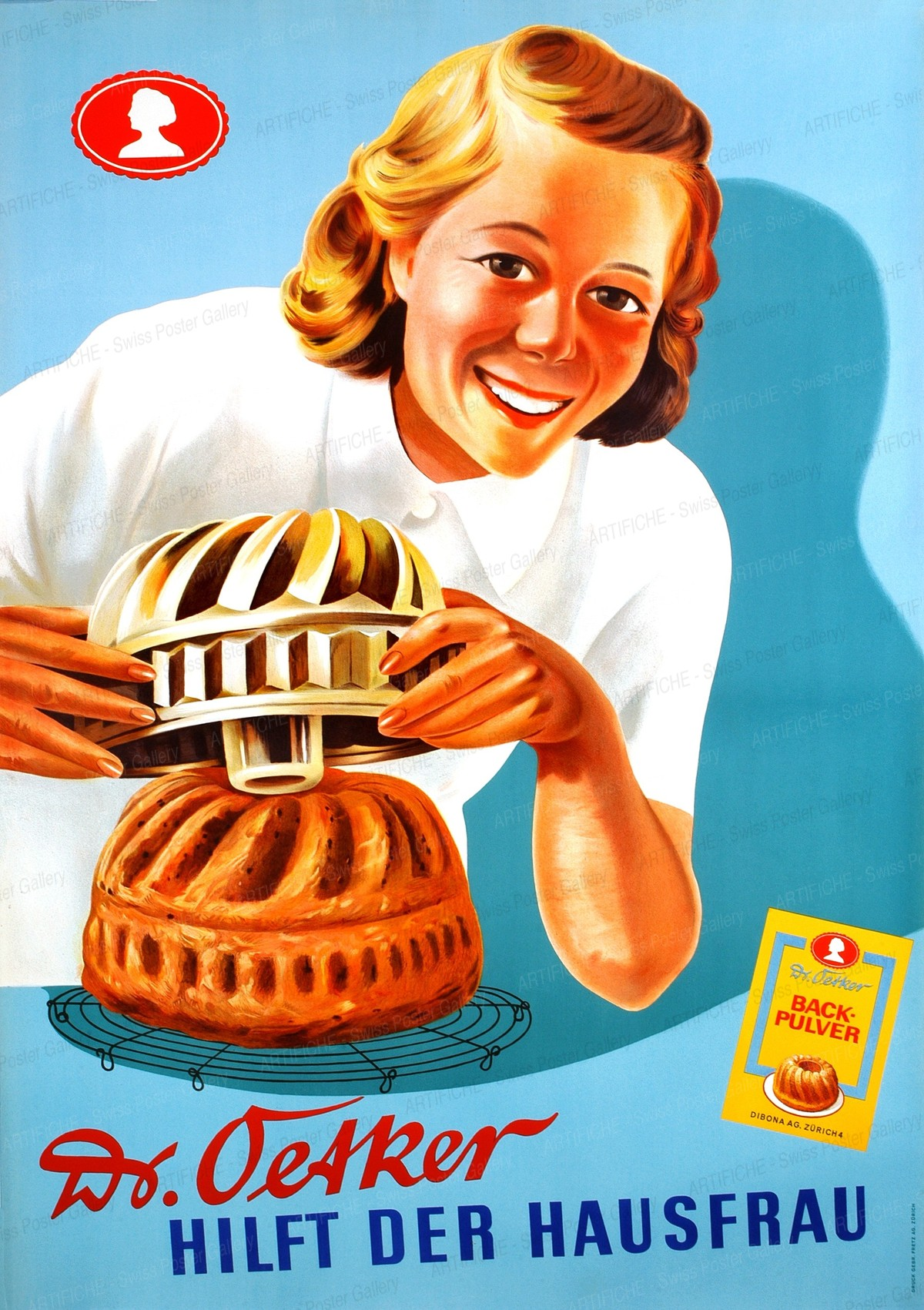 Dr. Oetker – Crème – Hilft der Hausfrau, Leo Keck