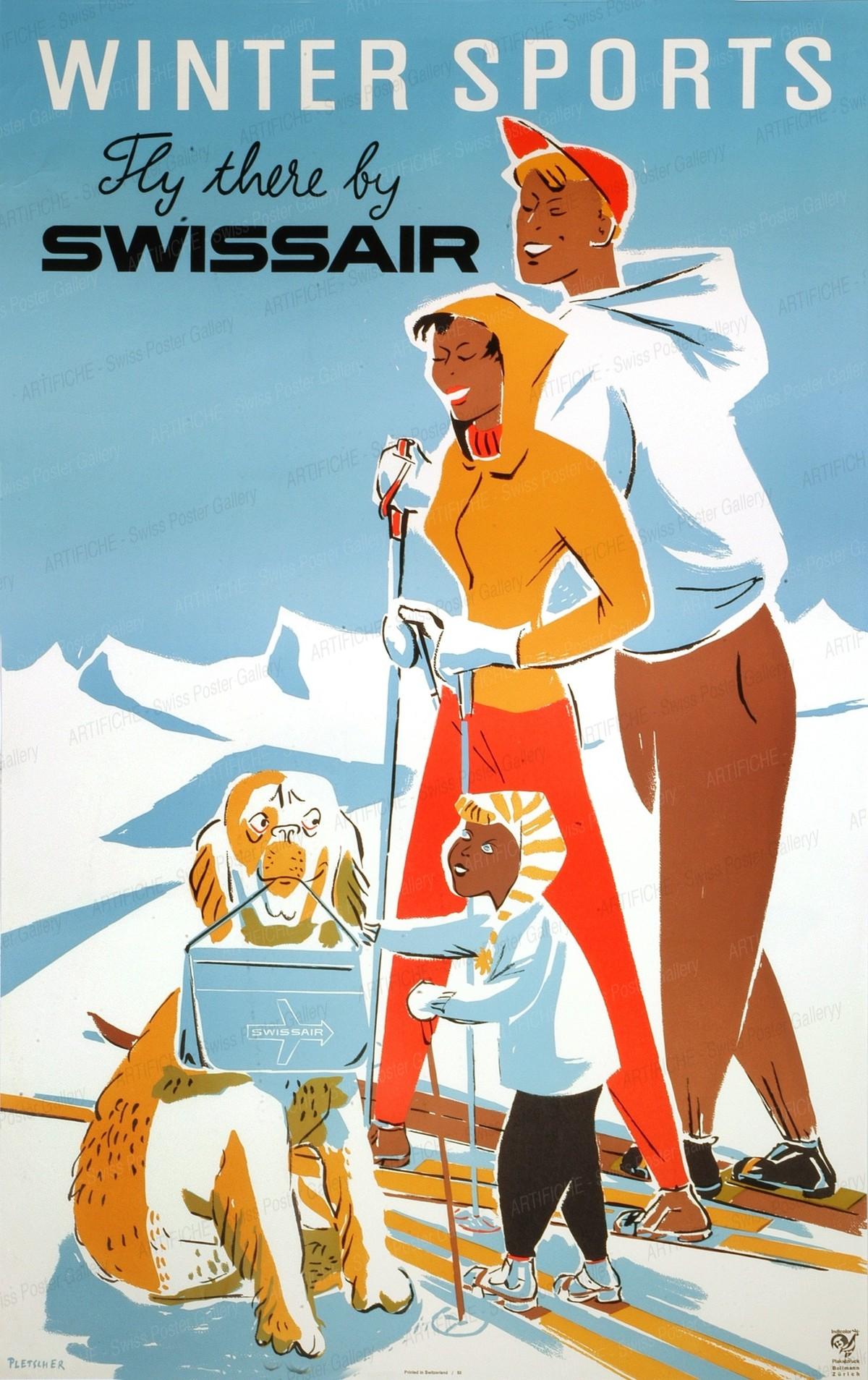Swissair, Pletscher Fredy
